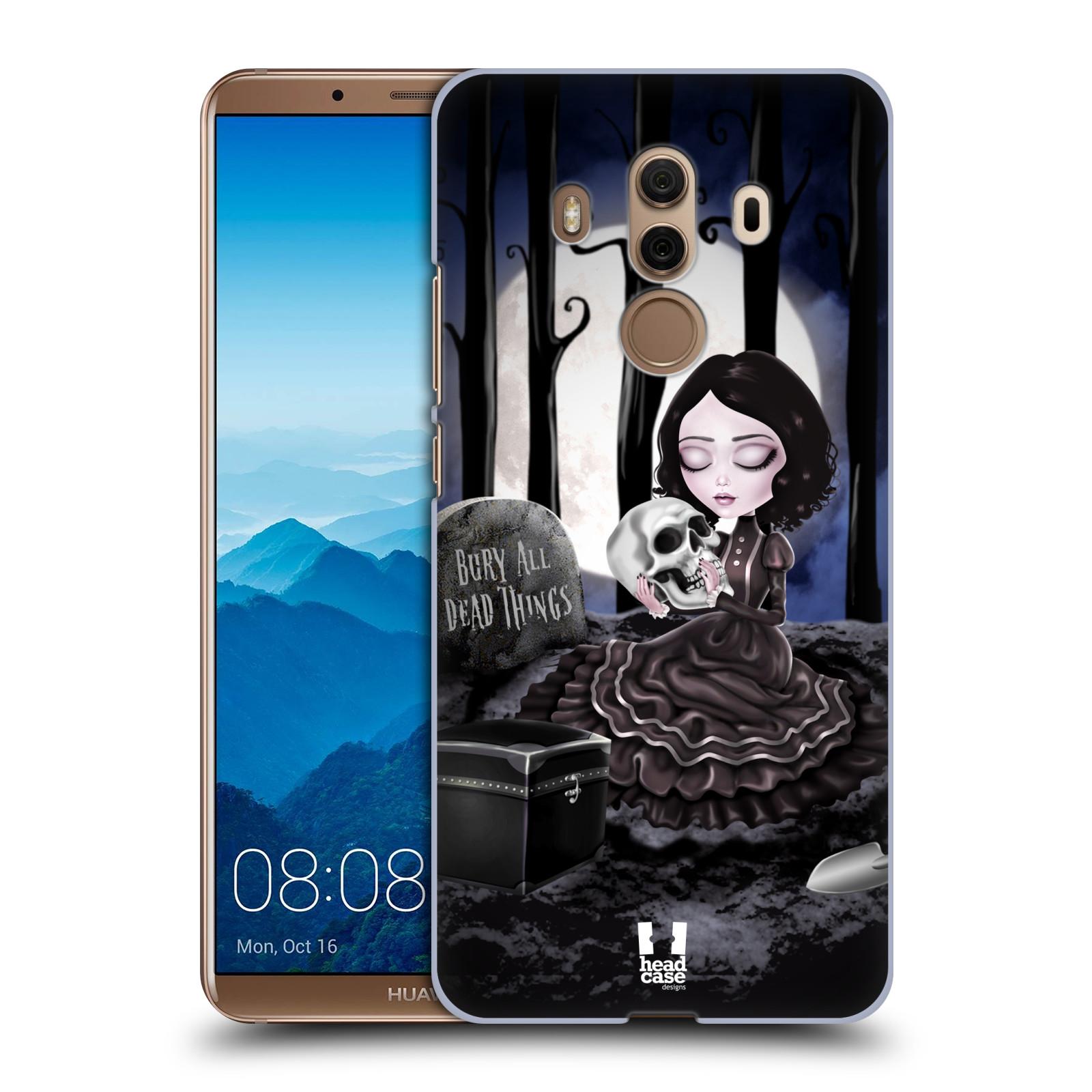 Plastové pouzdro na mobil Huawei Mate 10 Pro - Head Case - MACABRE HŘBITOV