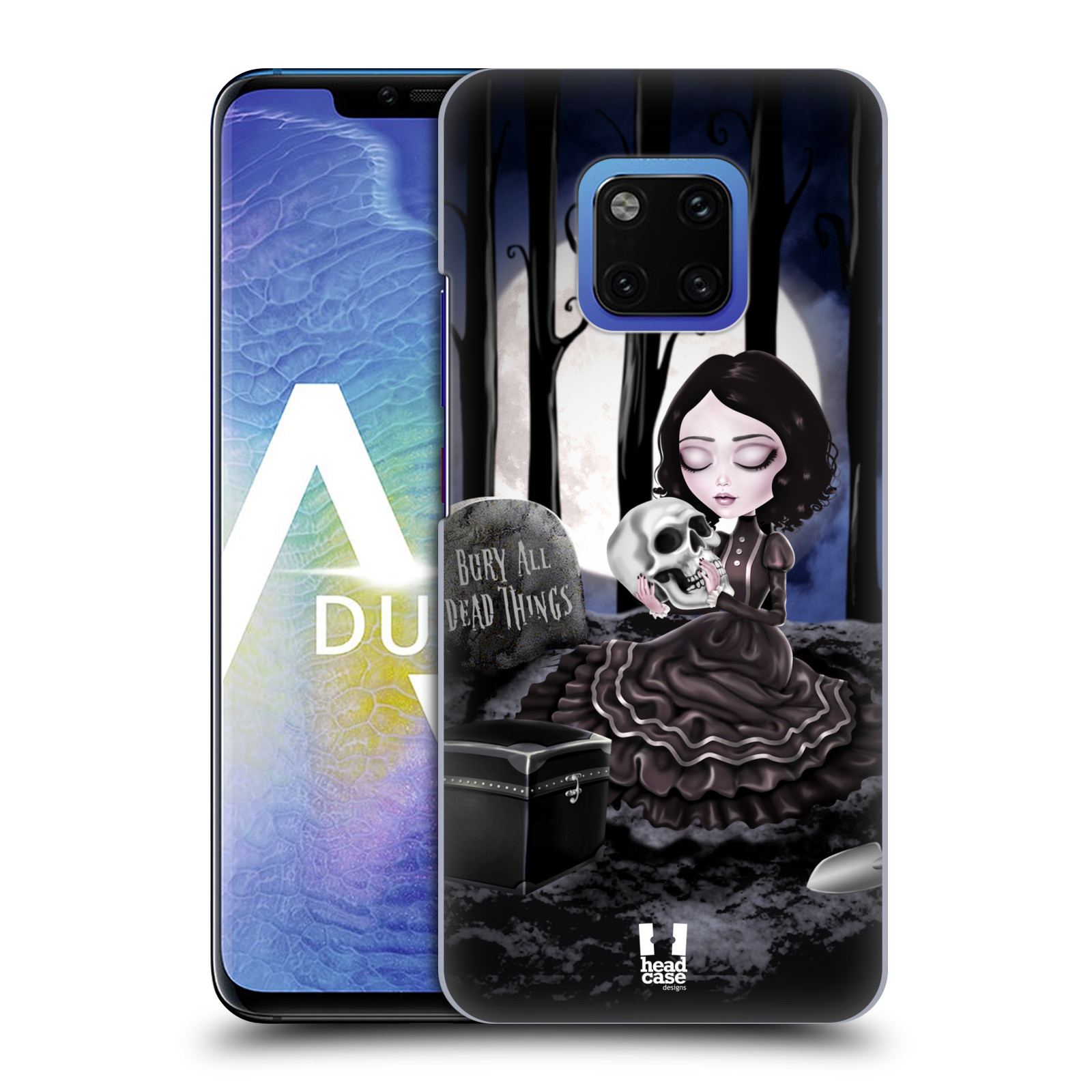Plastové pouzdro na mobil Huawei Mate 20 Pro - Head Case - MACABRE HŘBITOV