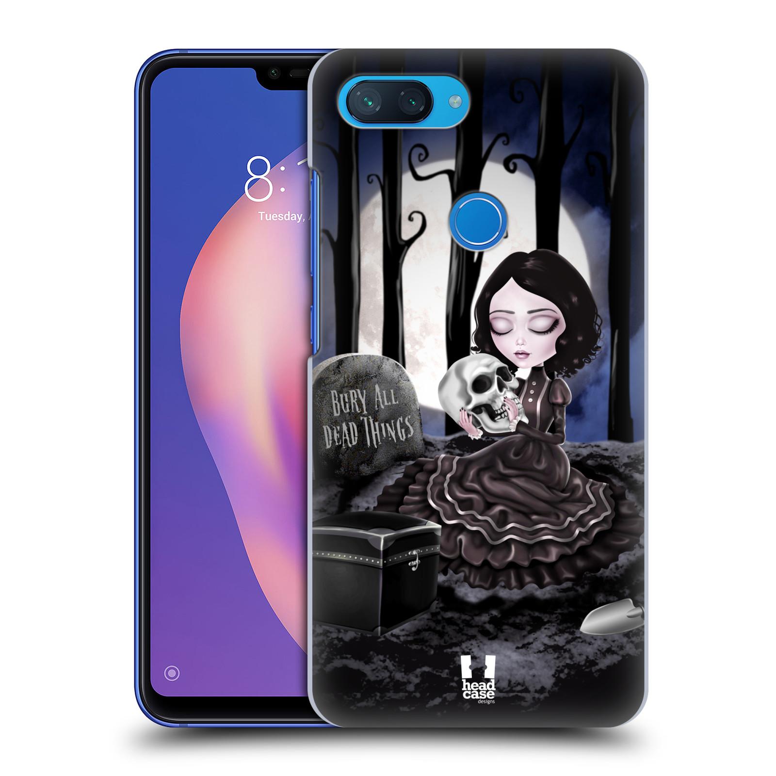 Plastové pouzdro na mobil Xiaomi Mi 8 Lite - Head Case - MACABRE HŘBITOV