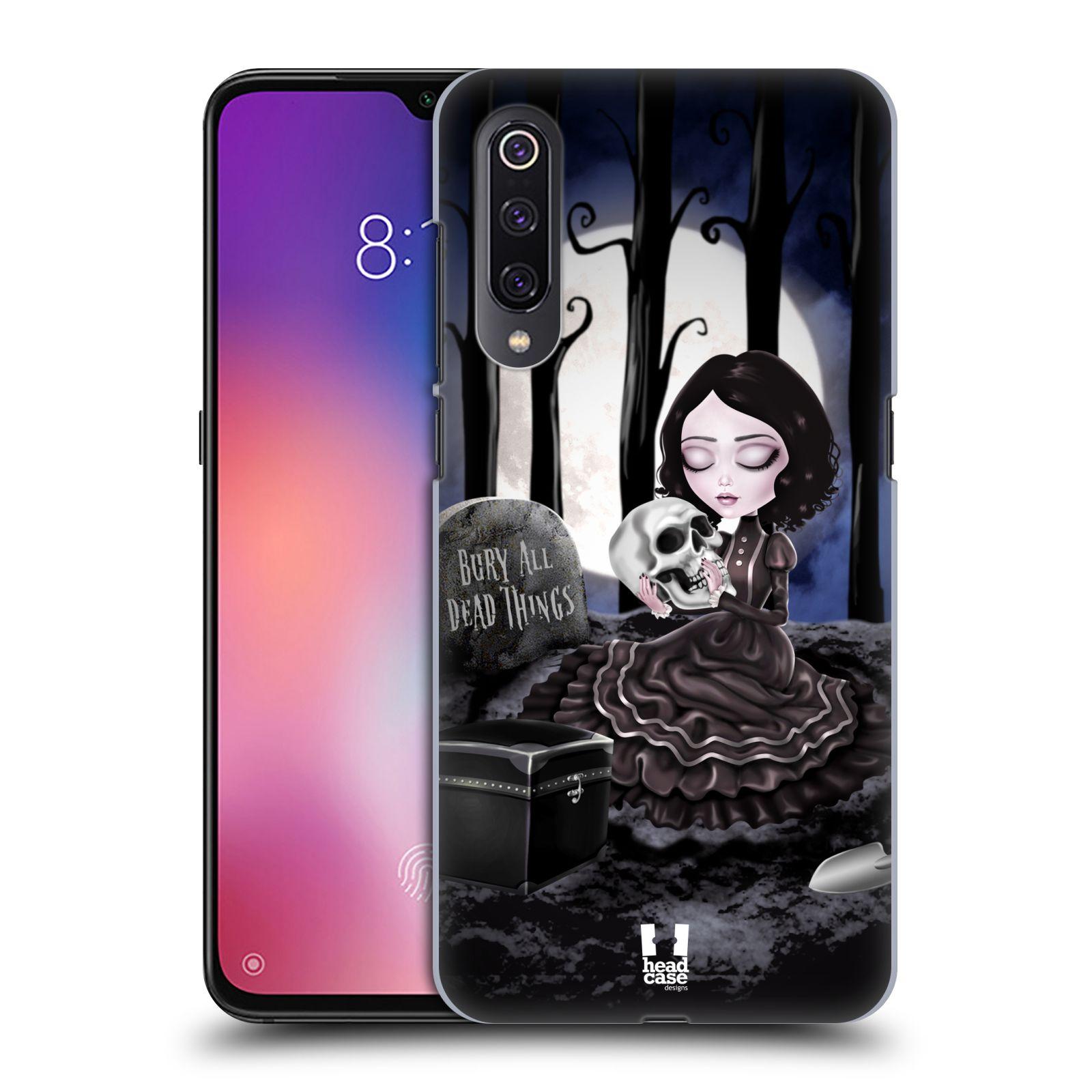 Plastové pouzdro na mobil Xiaomi Mi 9 - Head Case - MACABRE HŘBITOV