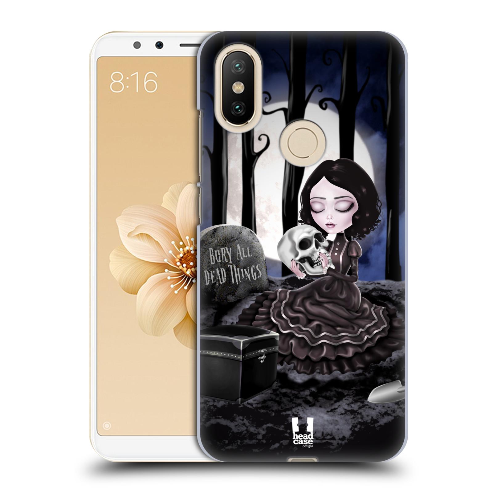 Plastové pouzdro na mobil Xiaomi Mi A2 - Head Case - MACABRE HŘBITOV