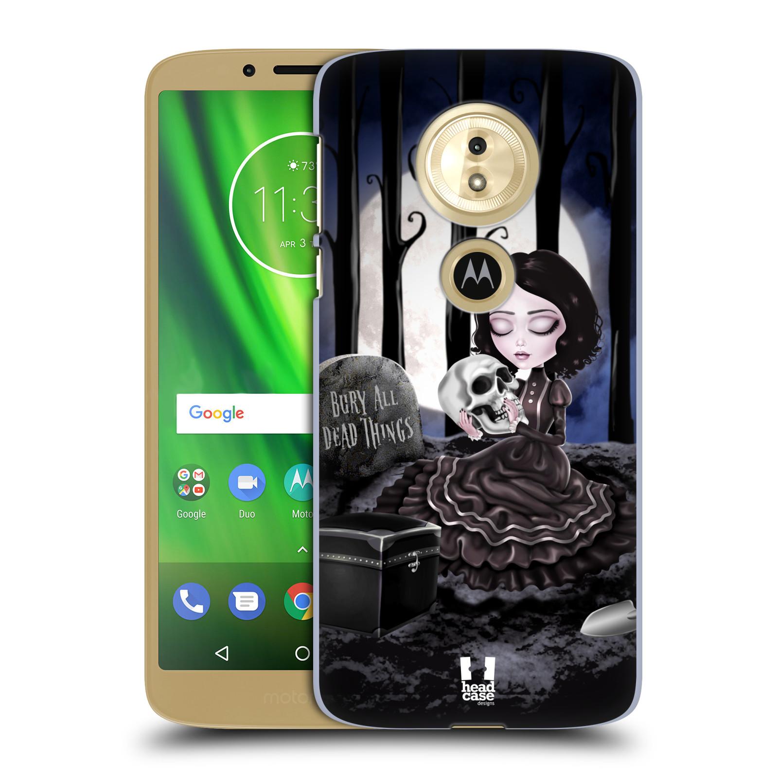 Plastové pouzdro na mobil Motorola Moto G6 Play - Head Case - MACABRE HŘBITOV