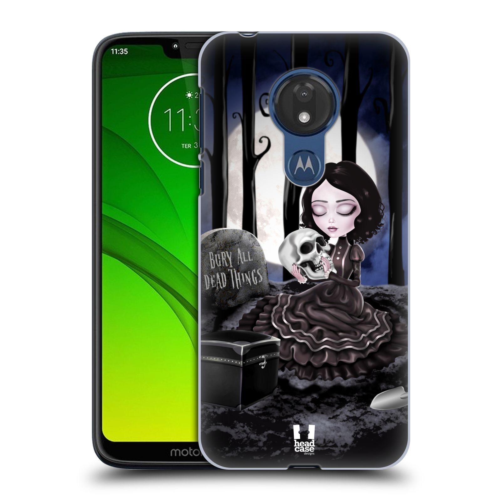 Plastové pouzdro na mobil Motorola Moto G7 Power - Head Case - MACABRE HŘBITOV