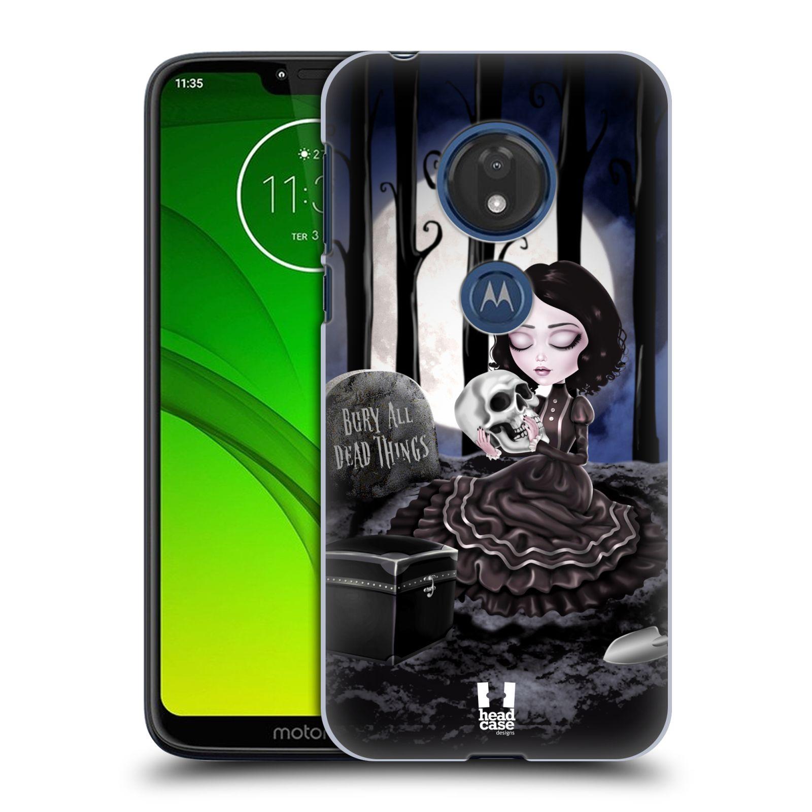 Plastové pouzdro na mobil Motorola Moto G7 Play - Head Case - MACABRE HŘBITOV