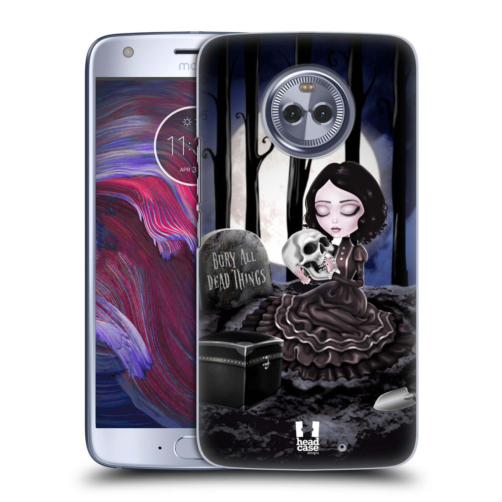 Plastové pouzdro na mobil Lenovo Moto X4 - Head Case - MACABRE HŘBITOV