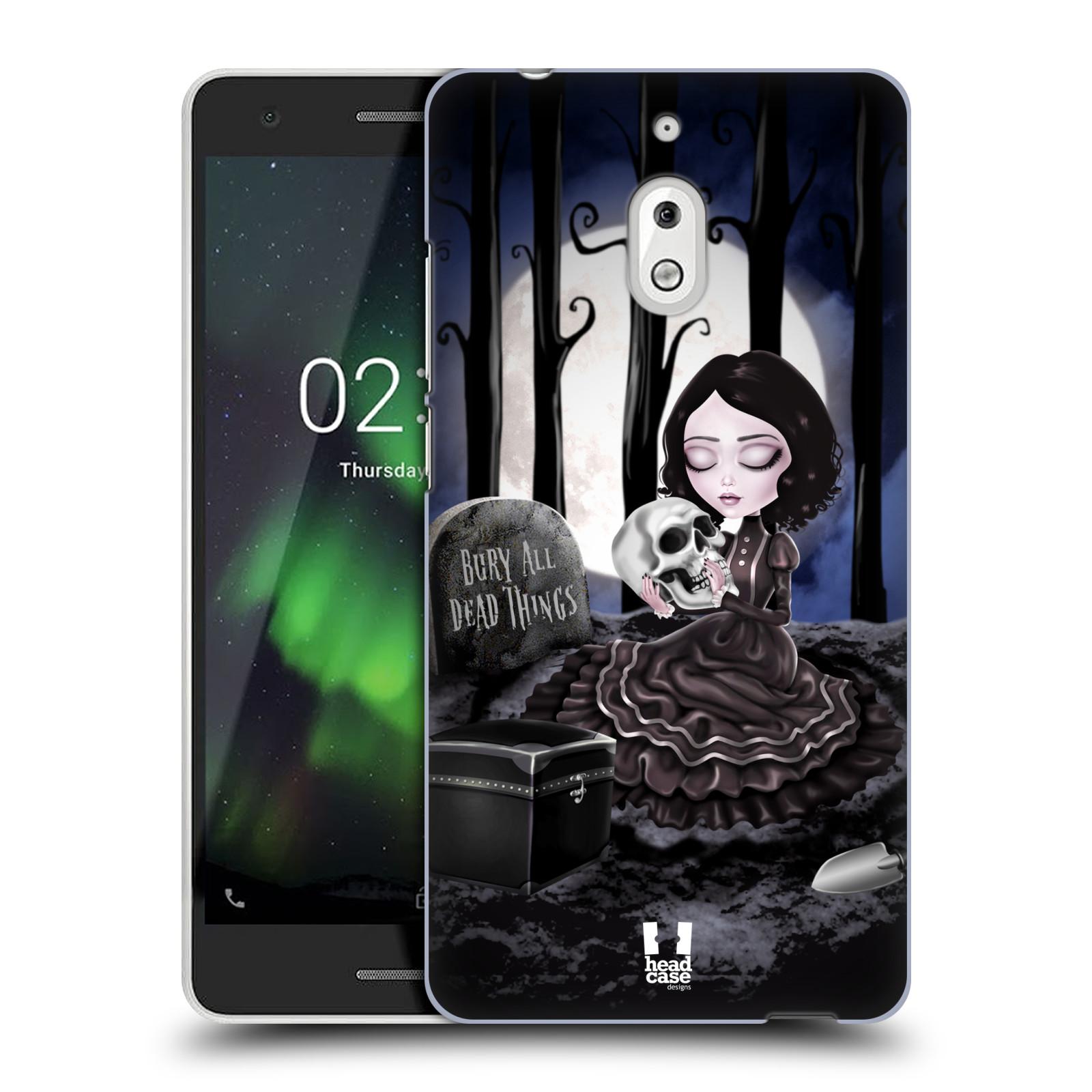 Plastové pouzdro na mobil Nokia 2.1 - Head Case - MACABRE HŘBITOV