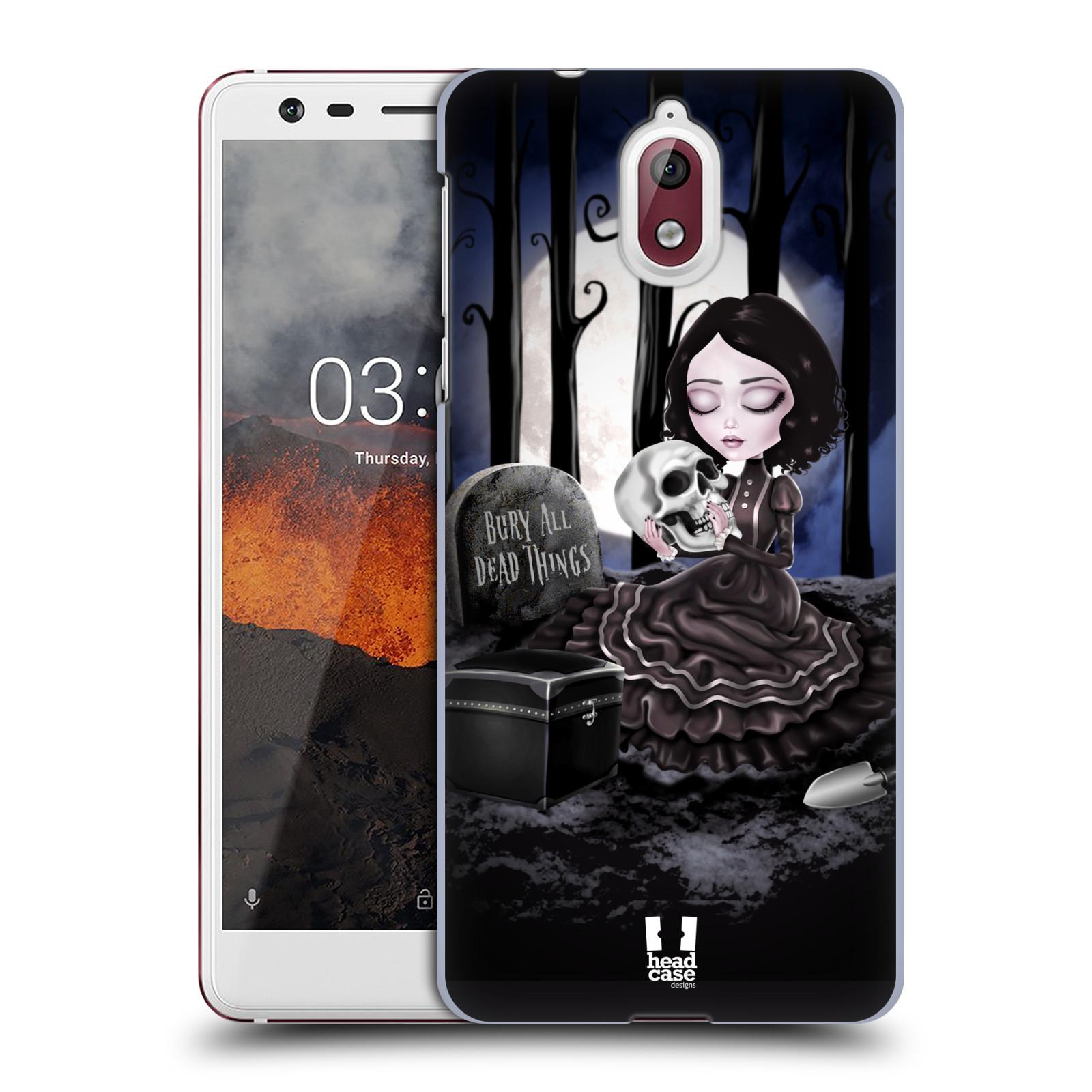 Plastové pouzdro na mobil Nokia 3.1 - Head Case - MACABRE HŘBITOV