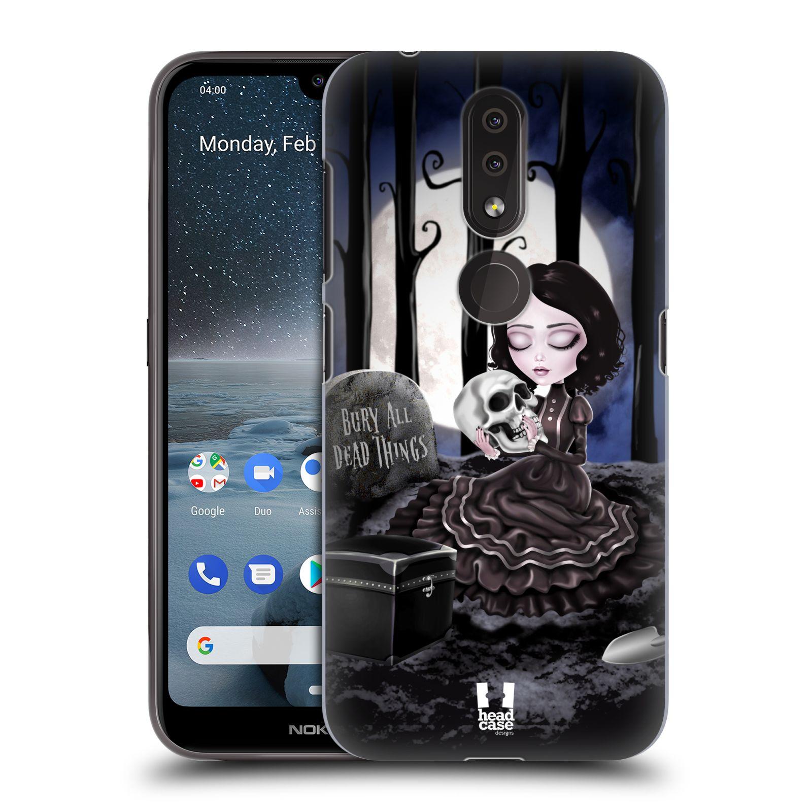 Plastové pouzdro na mobil Nokia 4.2 - Head Case - MACABRE HŘBITOV