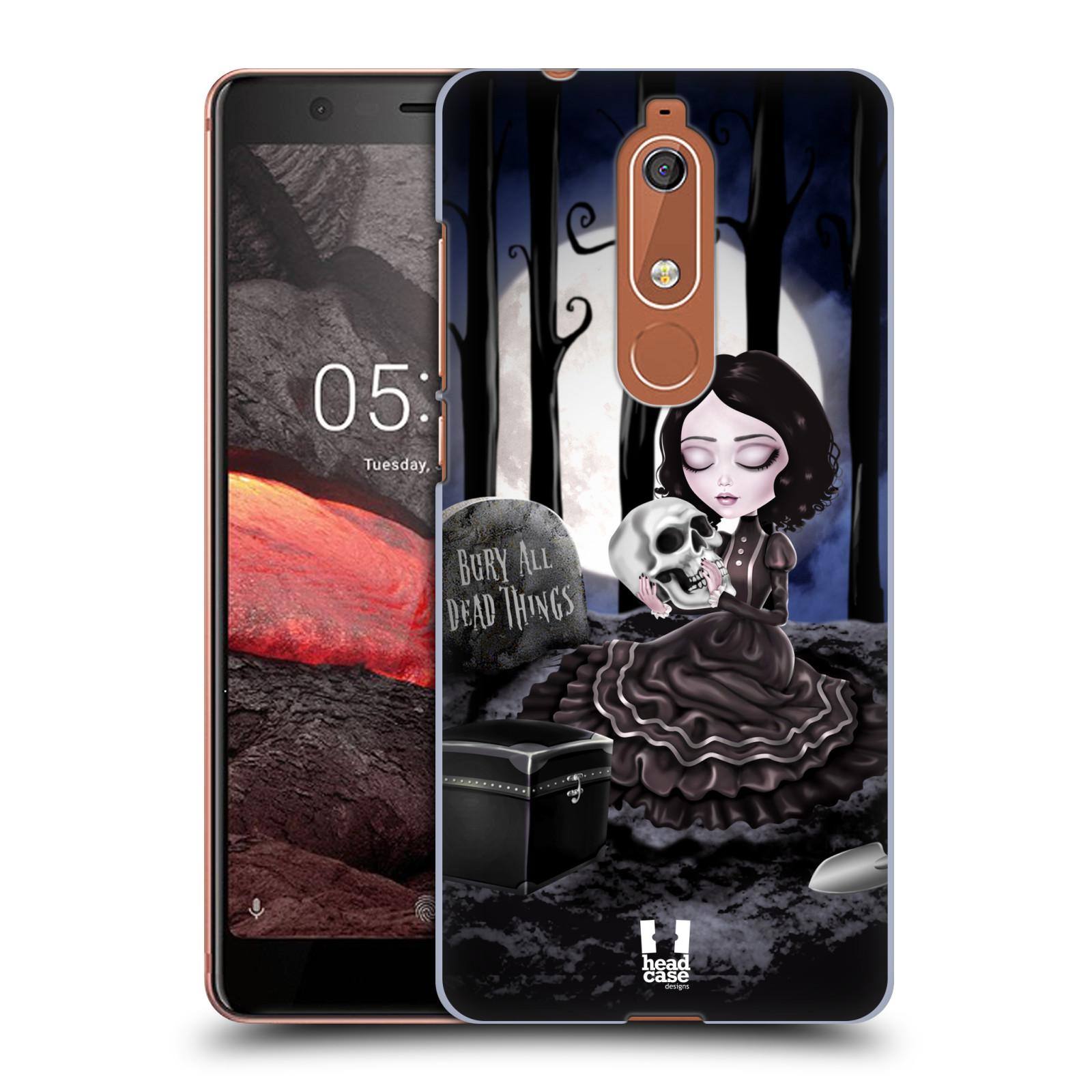Plastové pouzdro na mobil Nokia 5.1 - Head Case - MACABRE HŘBITOV