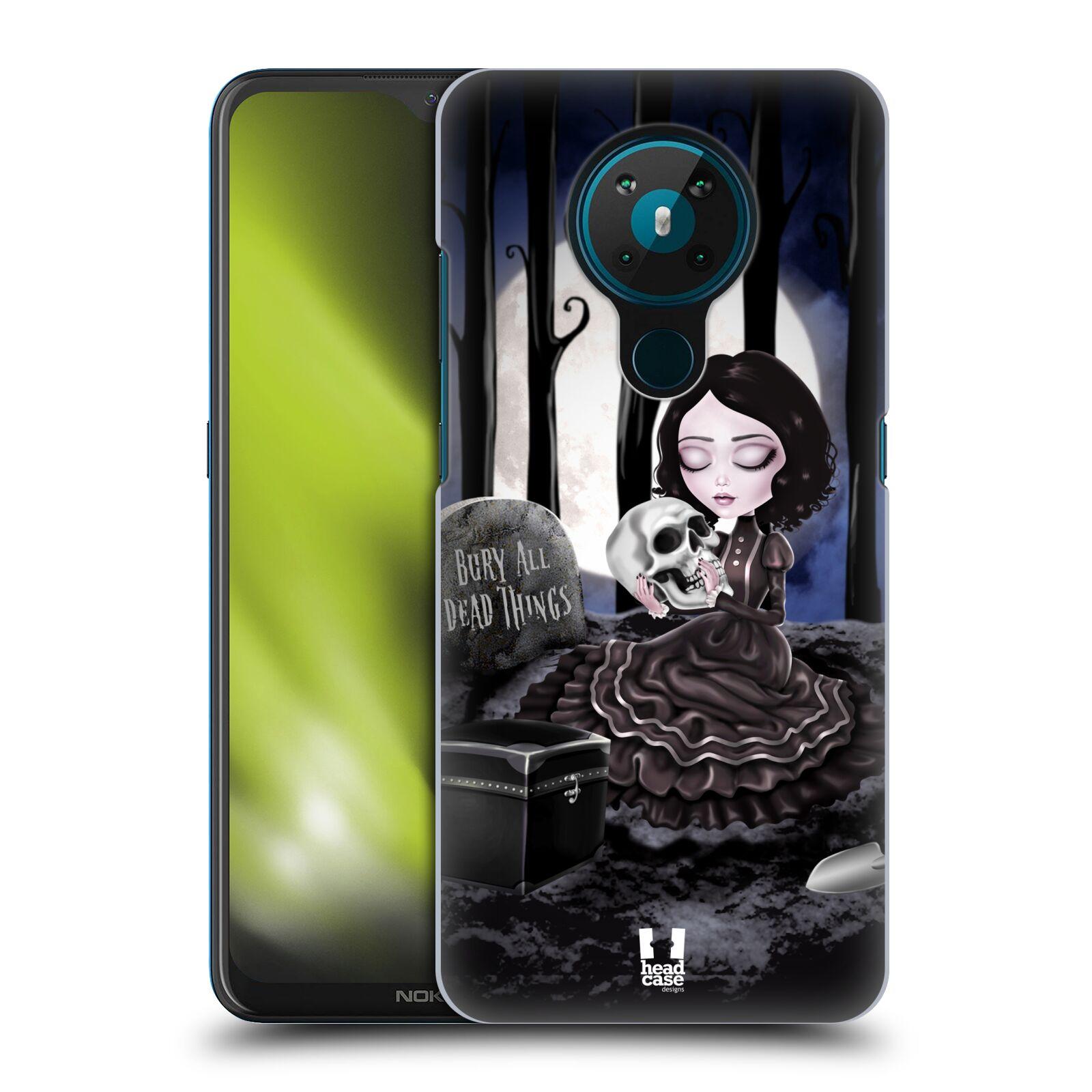 Plastové pouzdro na mobil Nokia 5.3 - Head Case - MACABRE HŘBITOV