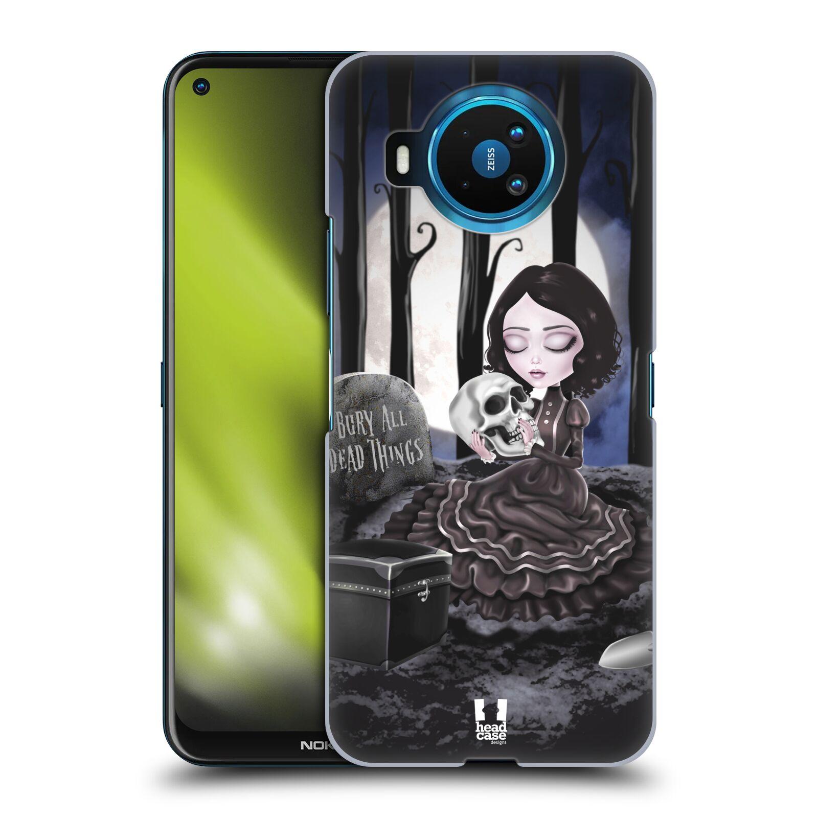 Plastové pouzdro na mobil Nokia 8.3 5G - Head Case - MACABRE HŘBITOV
