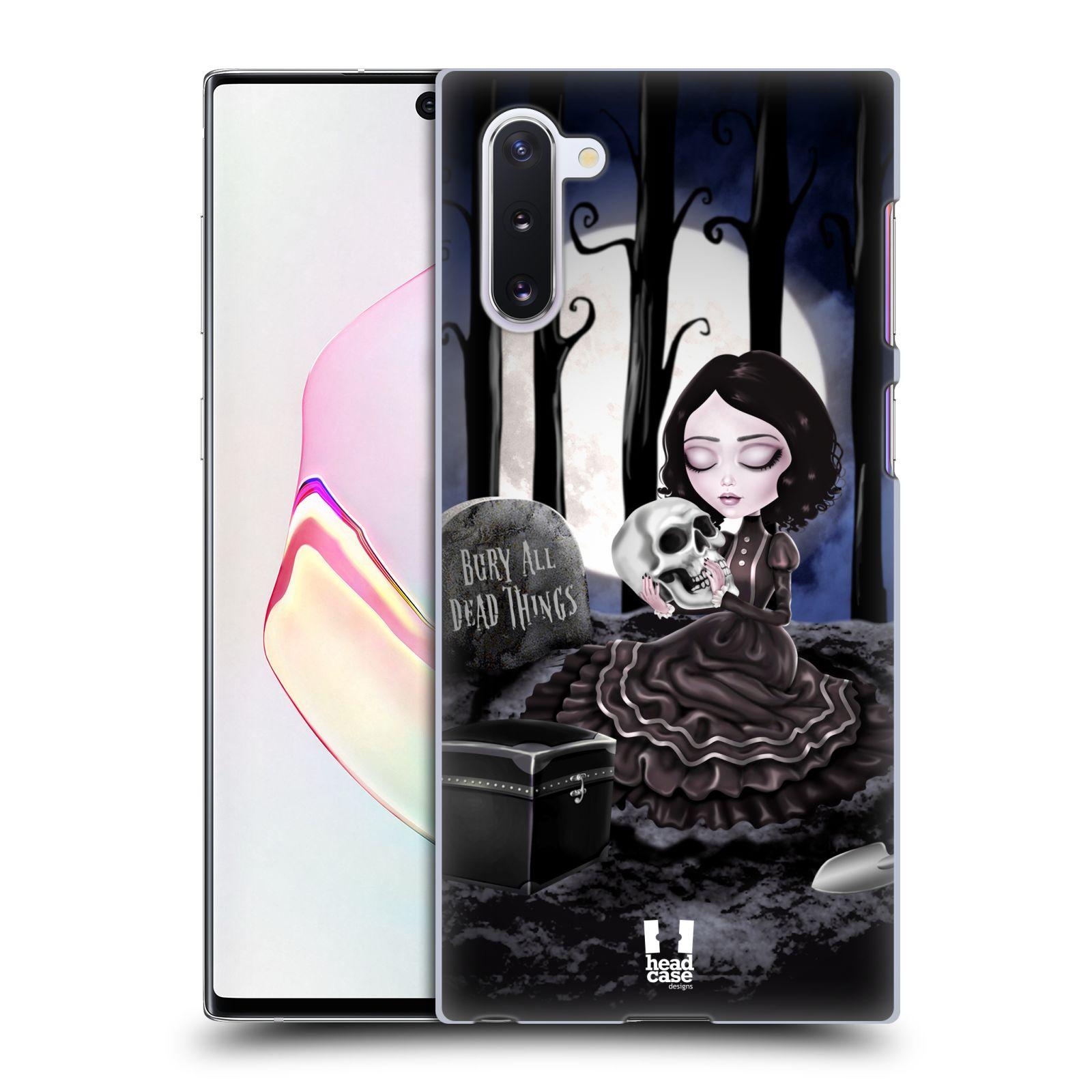Plastové pouzdro na mobil Samsung Galaxy Note 10 - Head Case - MACABRE HŘBITOV