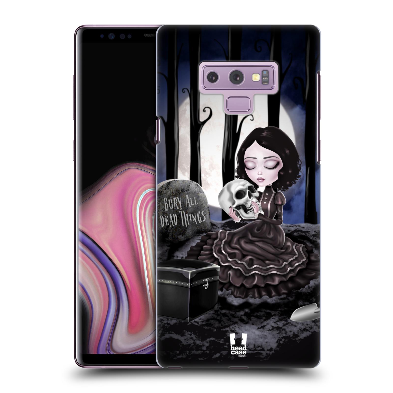 Plastové pouzdro na mobil Samsung Galaxy Note 9 - Head Case - MACABRE HŘBITOV