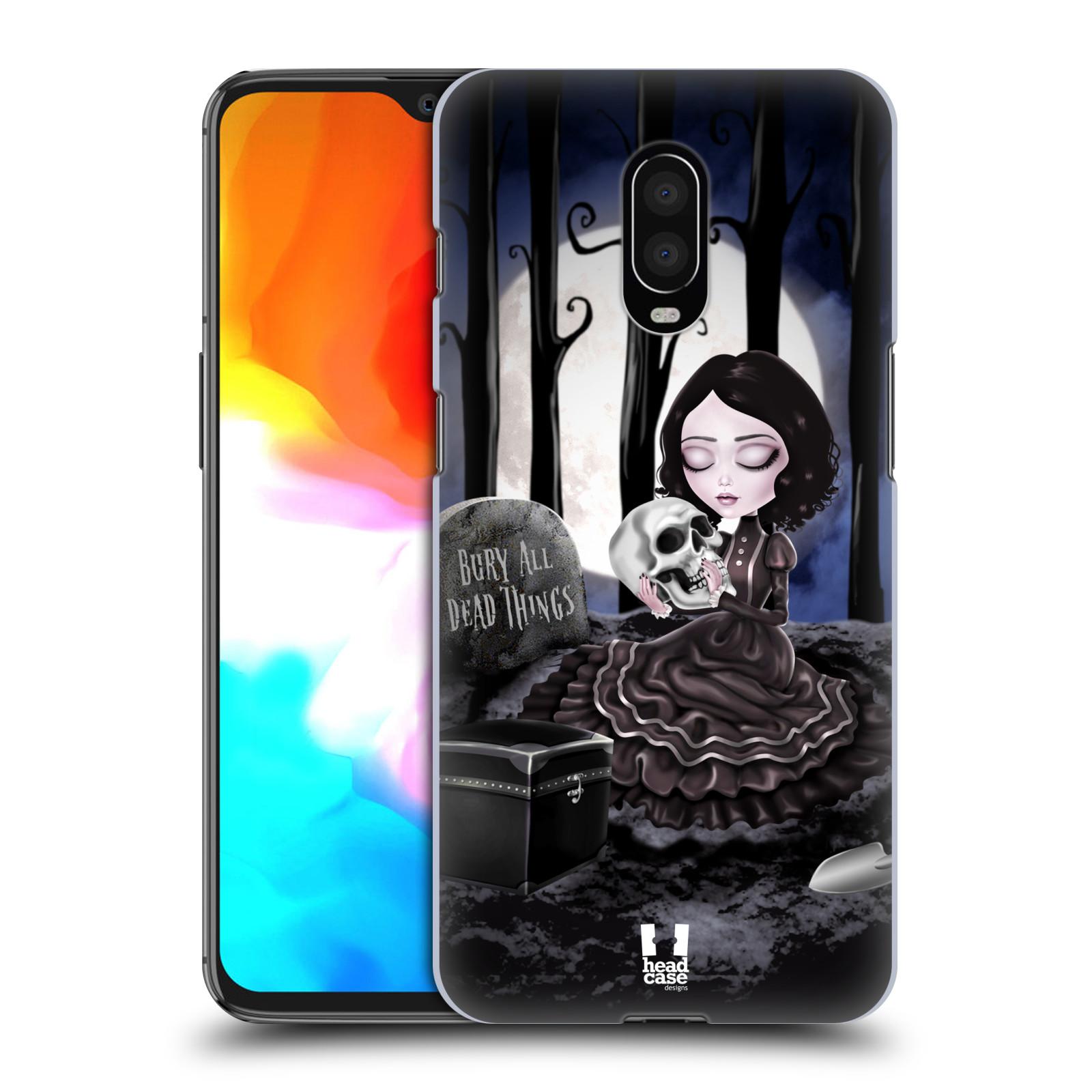 Plastové pouzdro na mobil OnePlus 6T - Head Case - MACABRE HŘBITOV