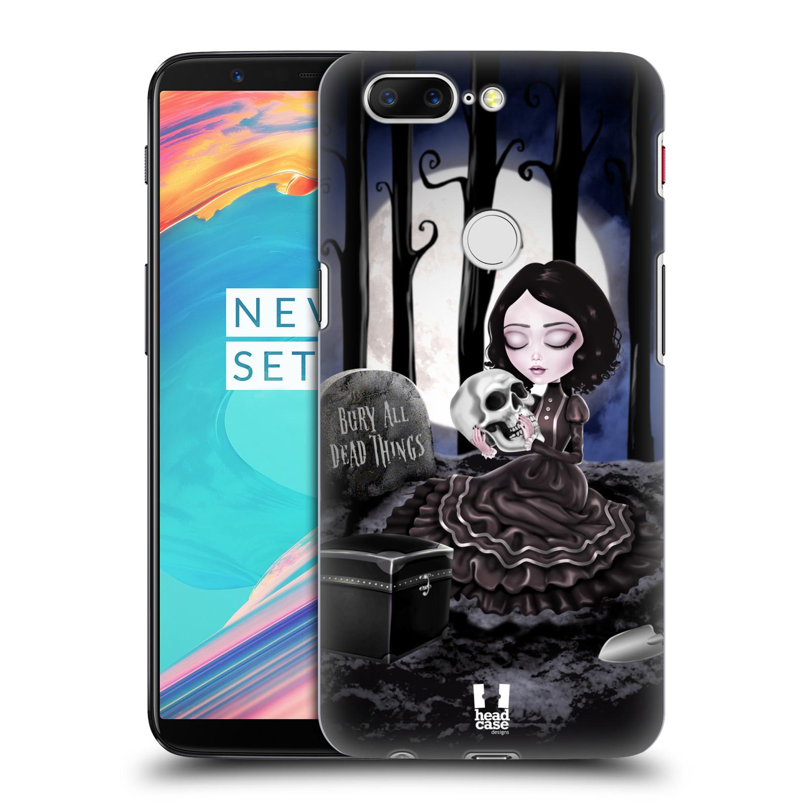 Plastové pouzdro na mobil OnePlus 5T - Head Case - MACABRE HŘBITOV