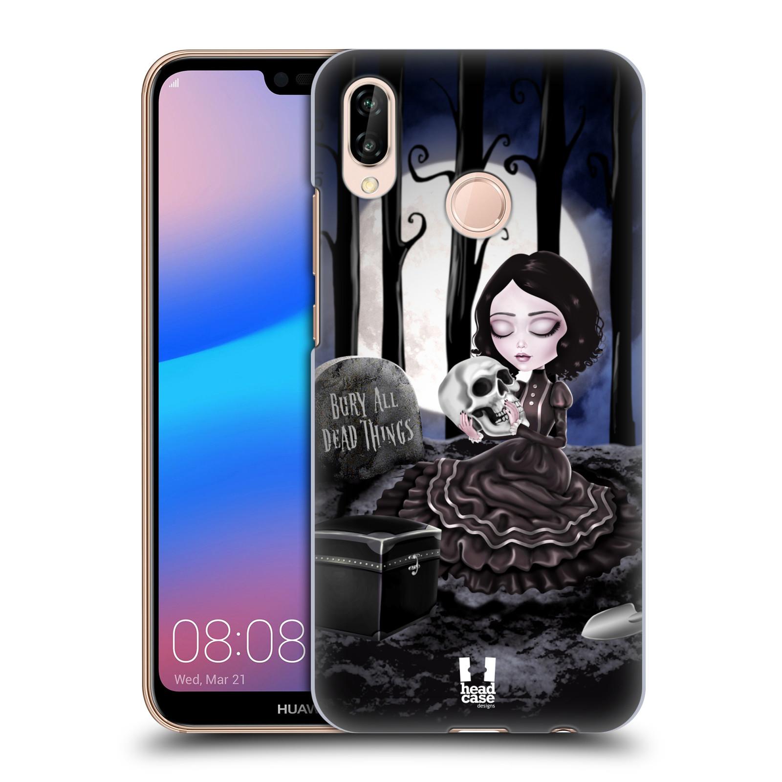 Plastové pouzdro na mobil Huawei P20 Lite - Head Case - MACABRE HŘBITOV