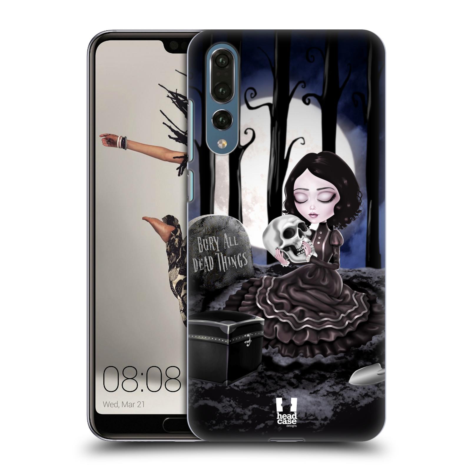 Plastové pouzdro na mobil Huawei P20 Pro - Head Case - MACABRE HŘBITOV