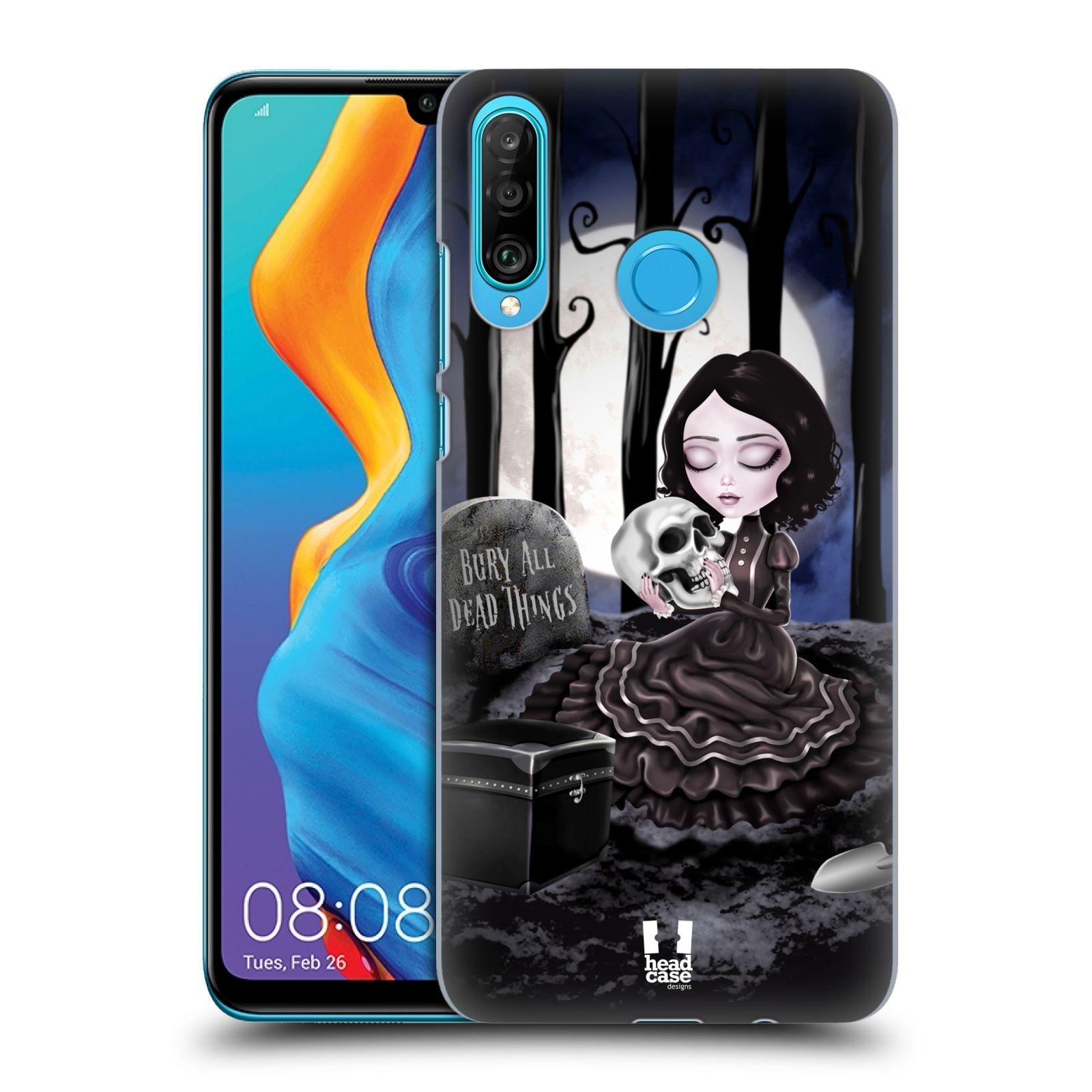 Plastové pouzdro na mobil Huawei P30 Lite - Head Case - MACABRE HŘBITOV