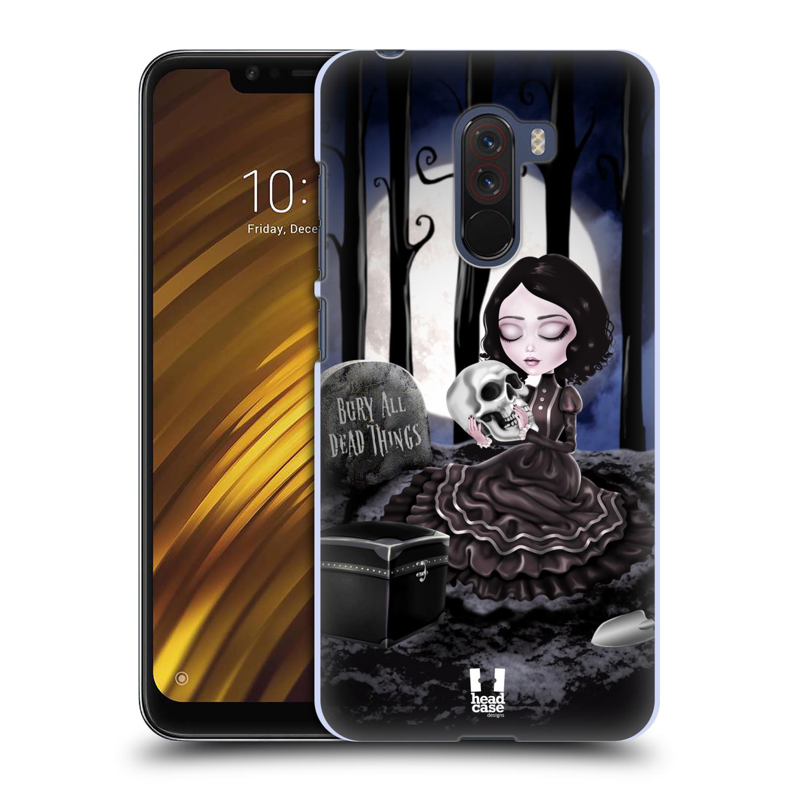 Plastové pouzdro na mobil Xiaomi Pocophone F1 - Head Case - MACABRE HŘBITOV