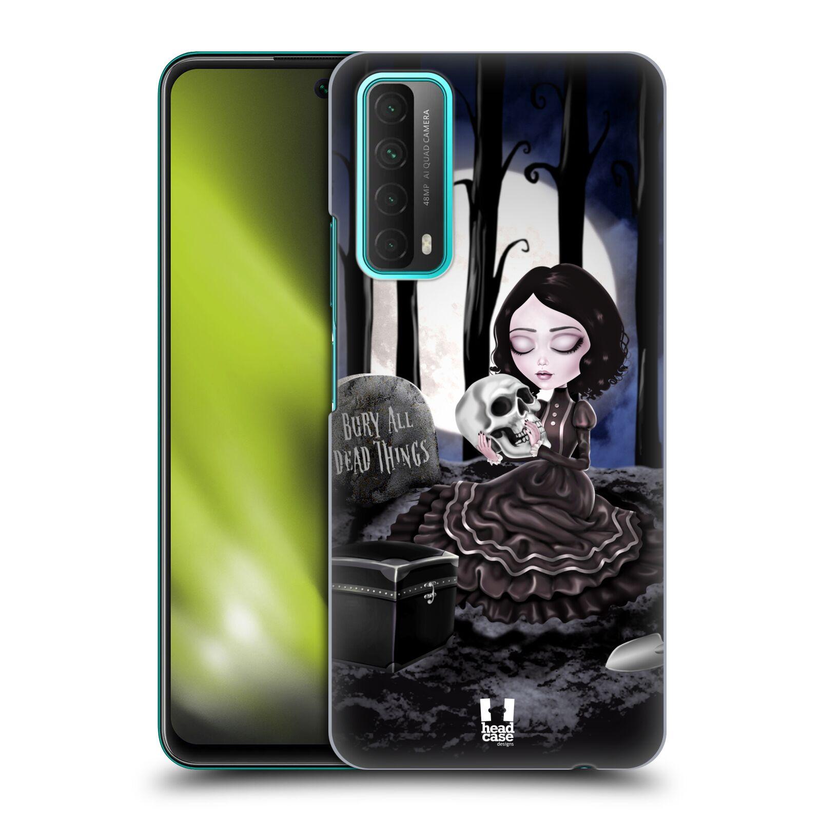 Plastové pouzdro na mobil Huawei P Smart (2021) - Head Case - MACABRE HŘBITOV