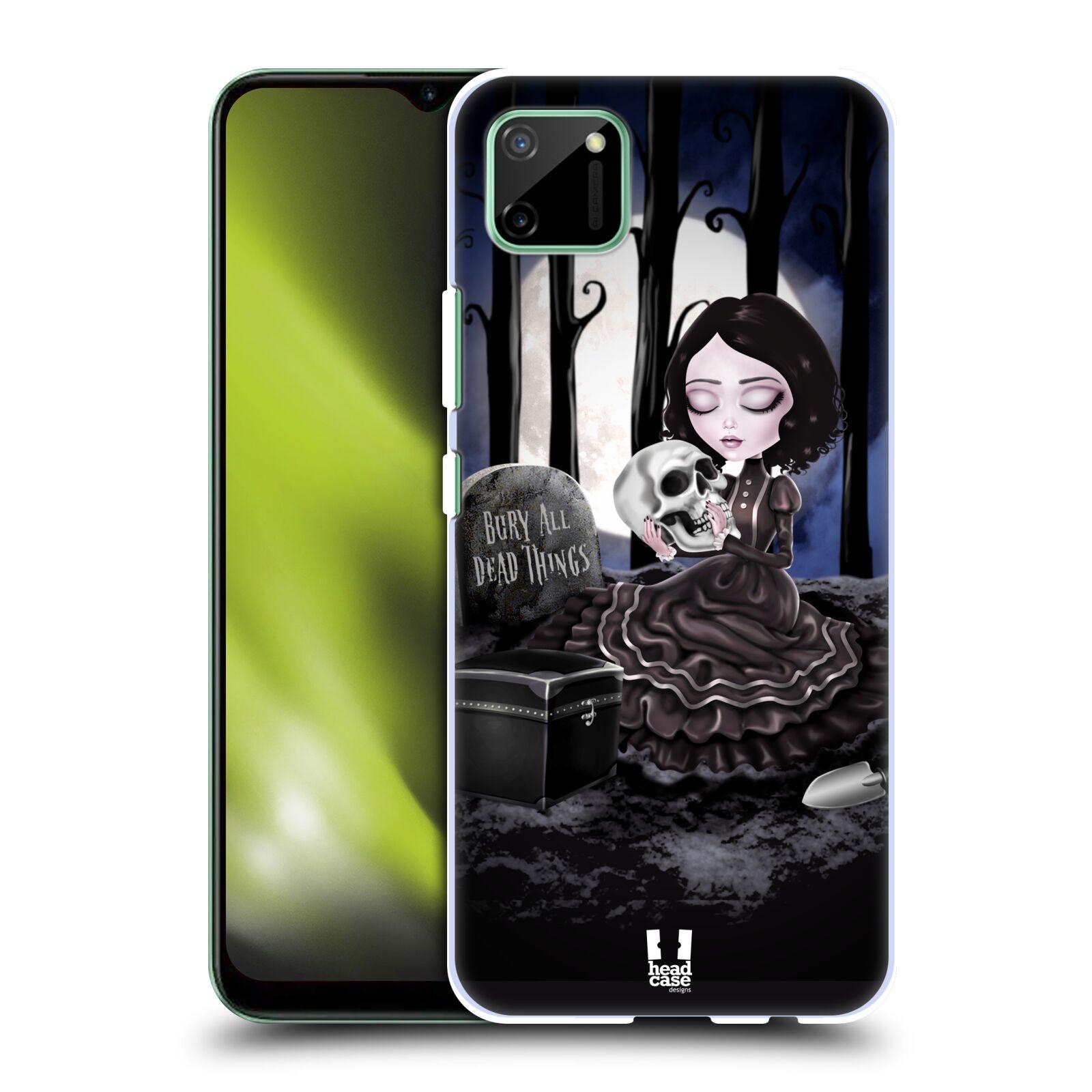 Plastové pouzdro na mobil Realme C11 - Head Case - MACABRE HŘBITOV