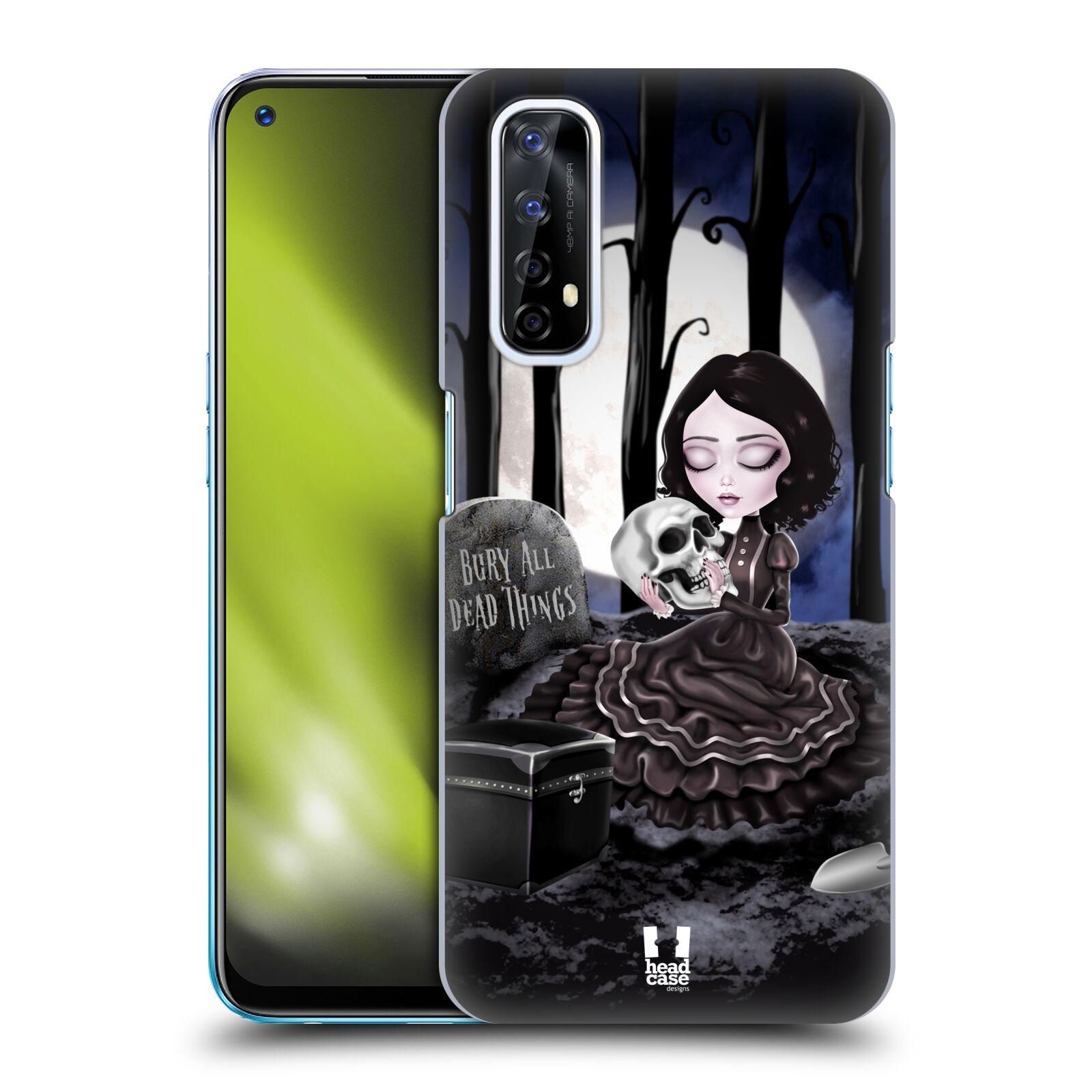 Plastové pouzdro na mobil Realme 7 - Head Case - MACABRE HŘBITOV
