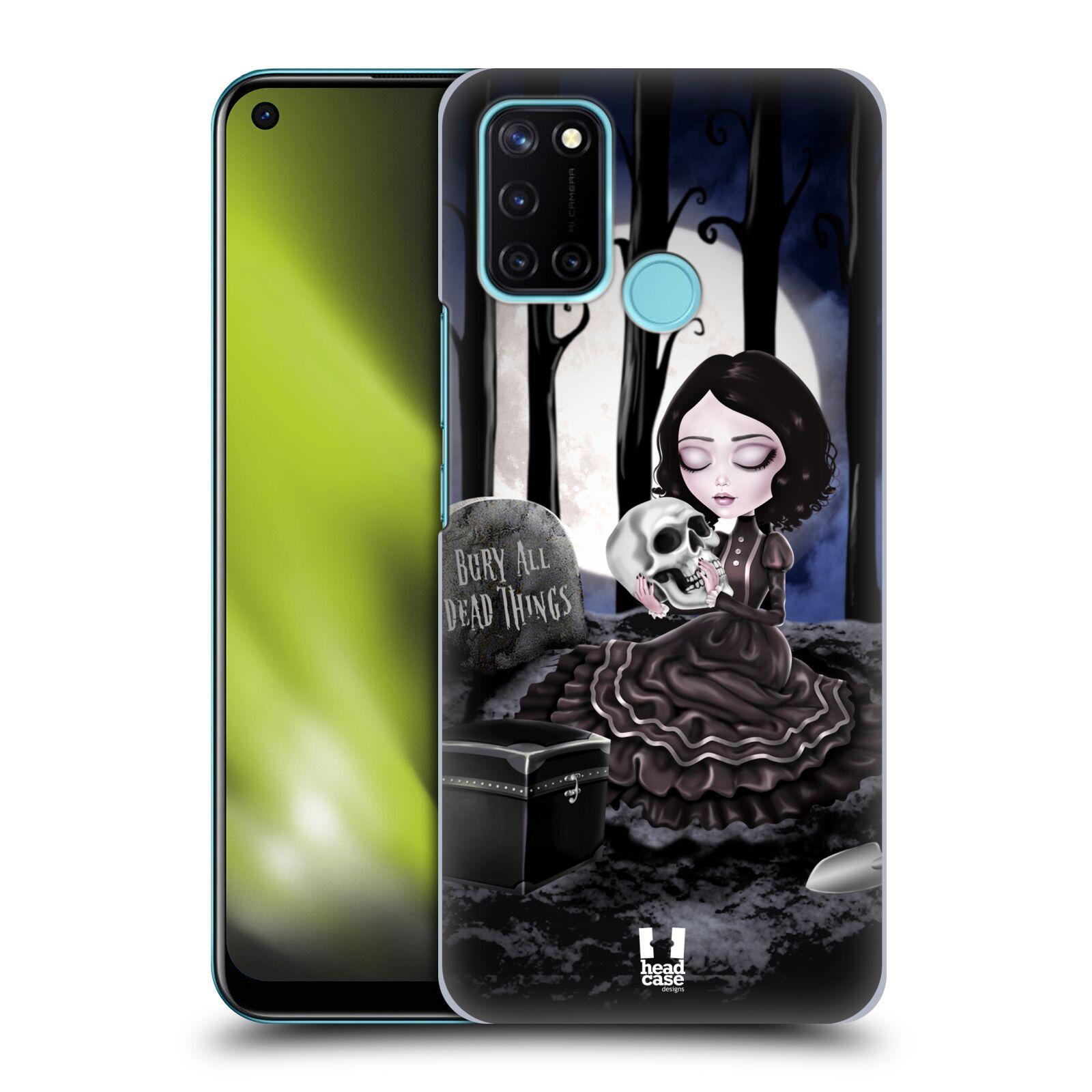 Plastové pouzdro na mobil Realme 7i - Head Case - MACABRE HŘBITOV