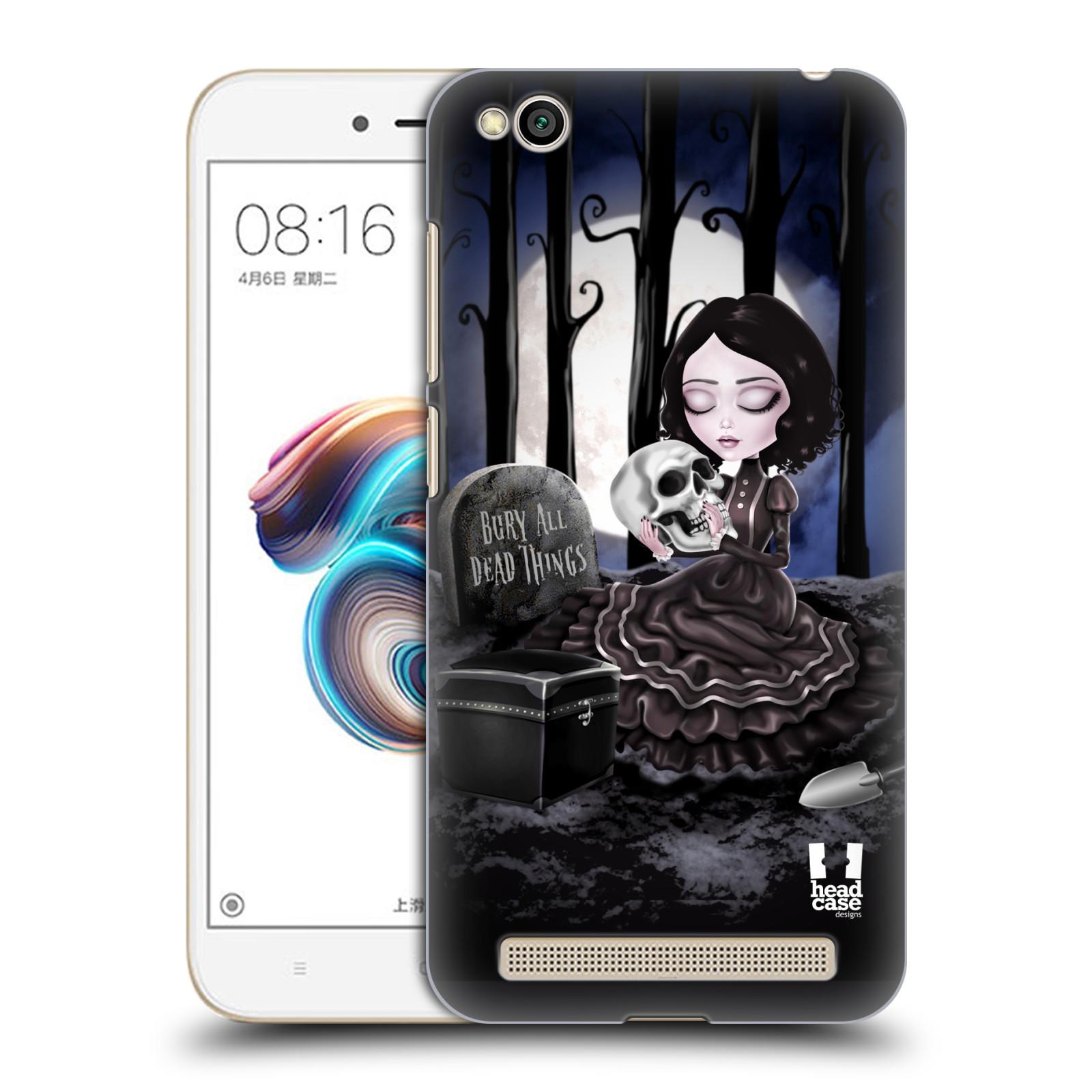 Plastové pouzdro na mobil Xiaomi Redmi 5A - Head Case - MACABRE HŘBITOV