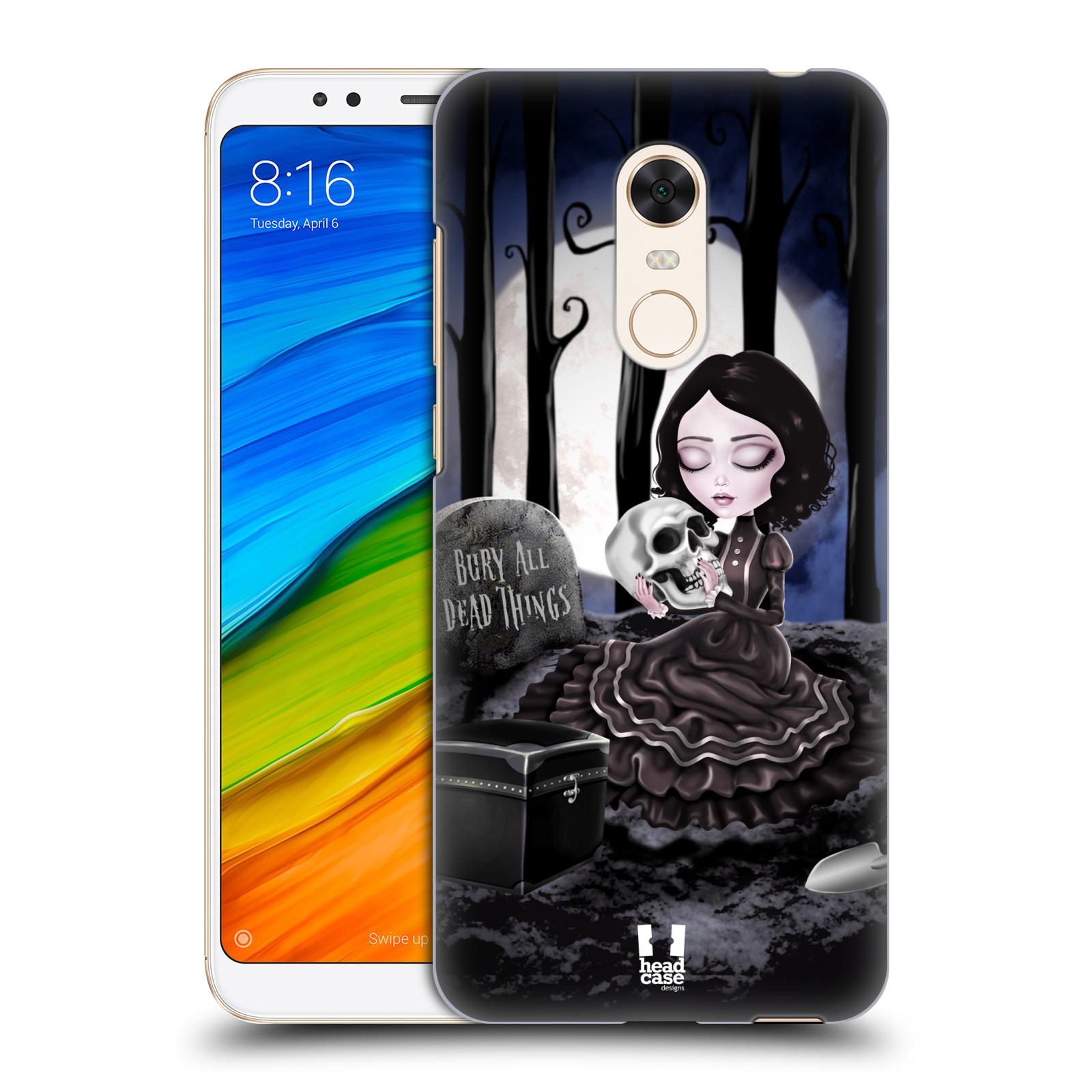 Plastové pouzdro na mobil Xiaomi Redmi 5 Plus - Head Case - MACABRE HŘBITOV