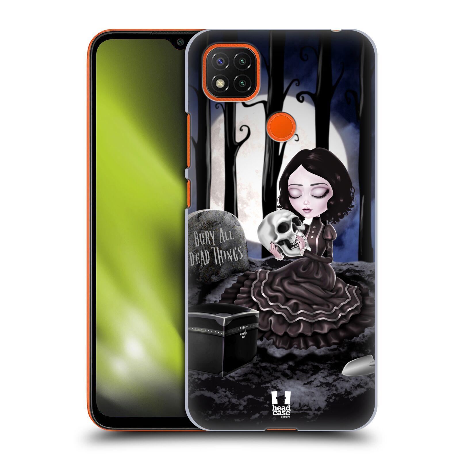 Plastové pouzdro na mobil Xiaomi Redmi 9C - Head Case - MACABRE HŘBITOV