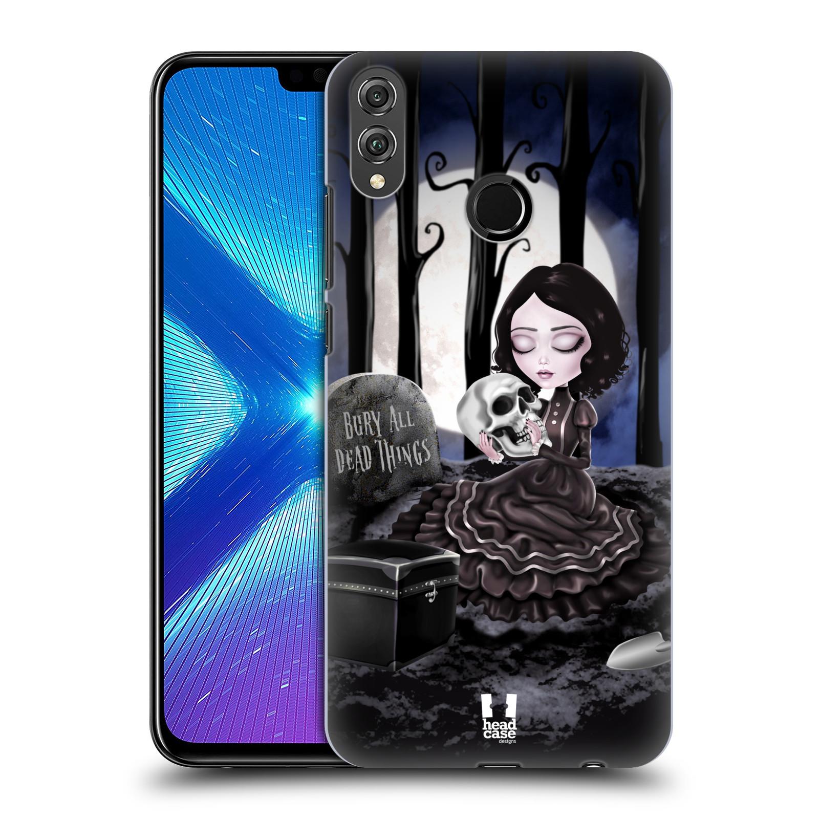 Plastové pouzdro na mobil Honor 8X - Head Case - MACABRE HŘBITOV