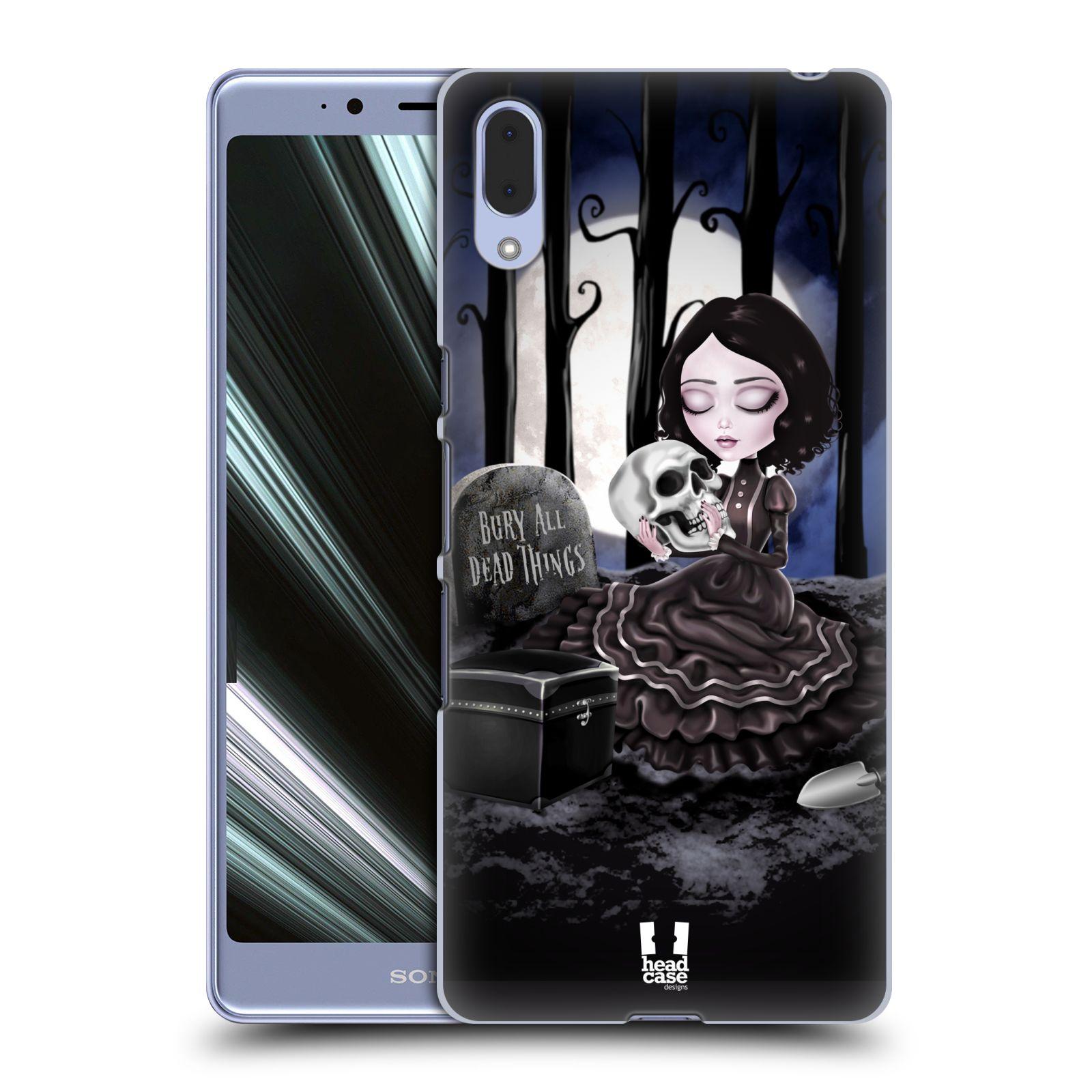 Plastové pouzdro na mobil Sony Xperia L3 - Head Case - MACABRE HŘBITOV