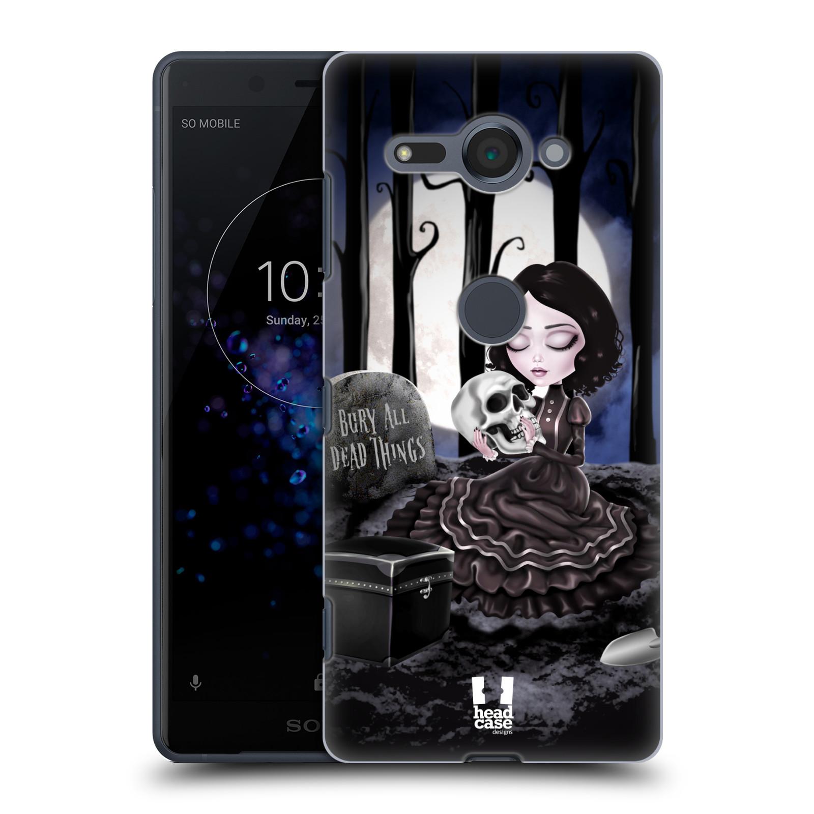 Plastové pouzdro na mobil Sony Xperia XZ2 Compact - Head Case - MACABRE HŘBITOV
