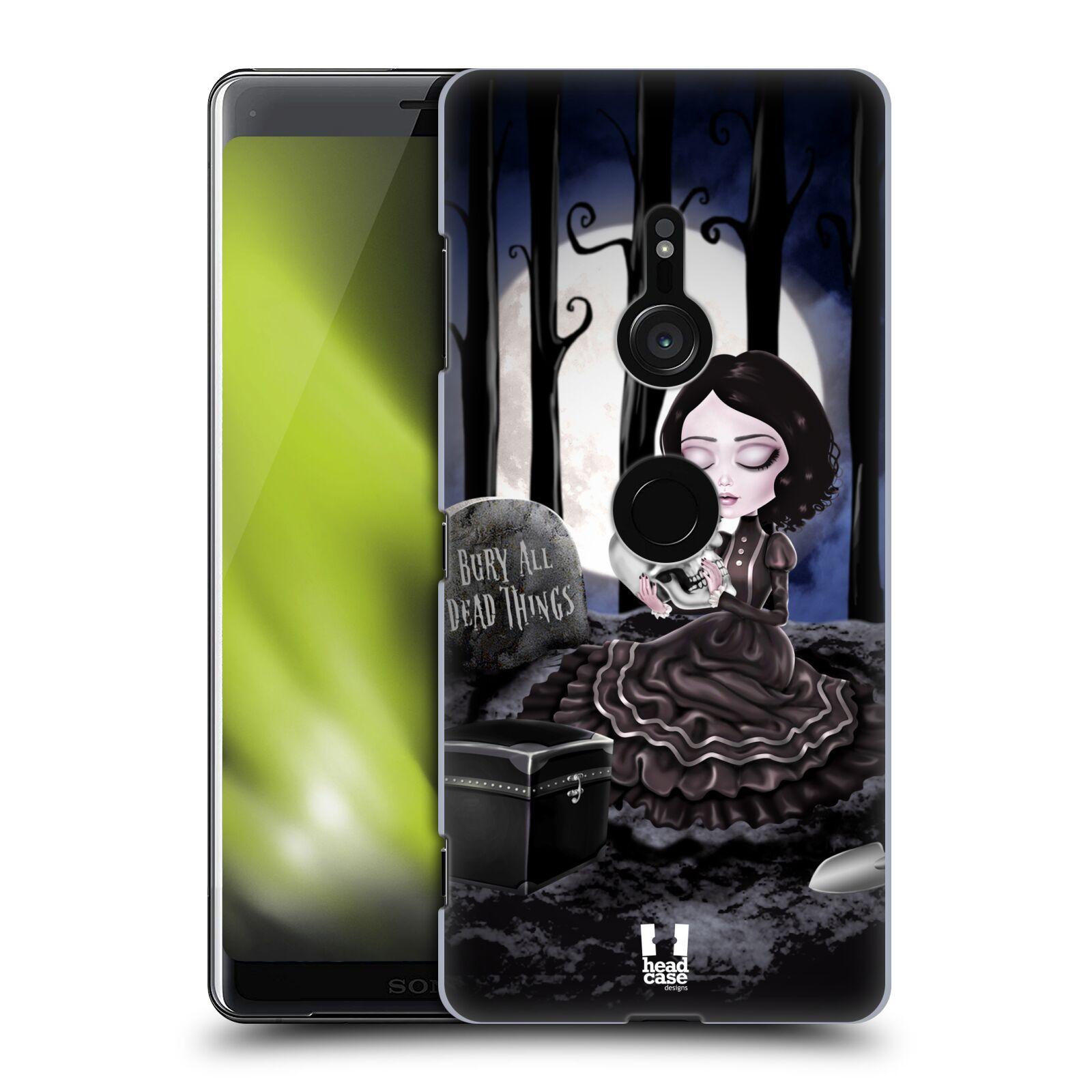 Plastové pouzdro na mobil Sony Xperia XZ3 - Head Case - MACABRE HŘBITOV