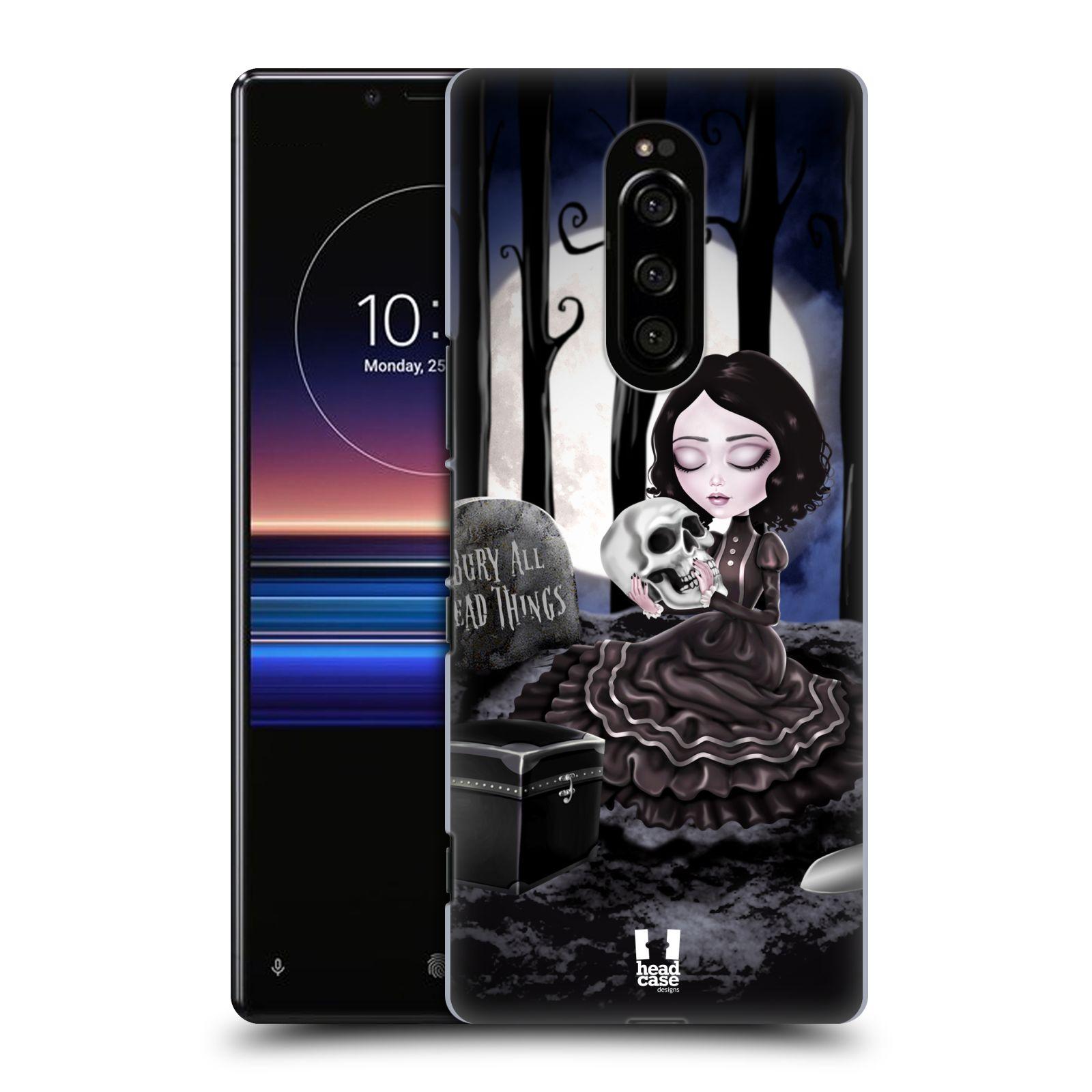 Plastové pouzdro na mobil Sony Xperia 1 - Head Case - MACABRE HŘBITOV