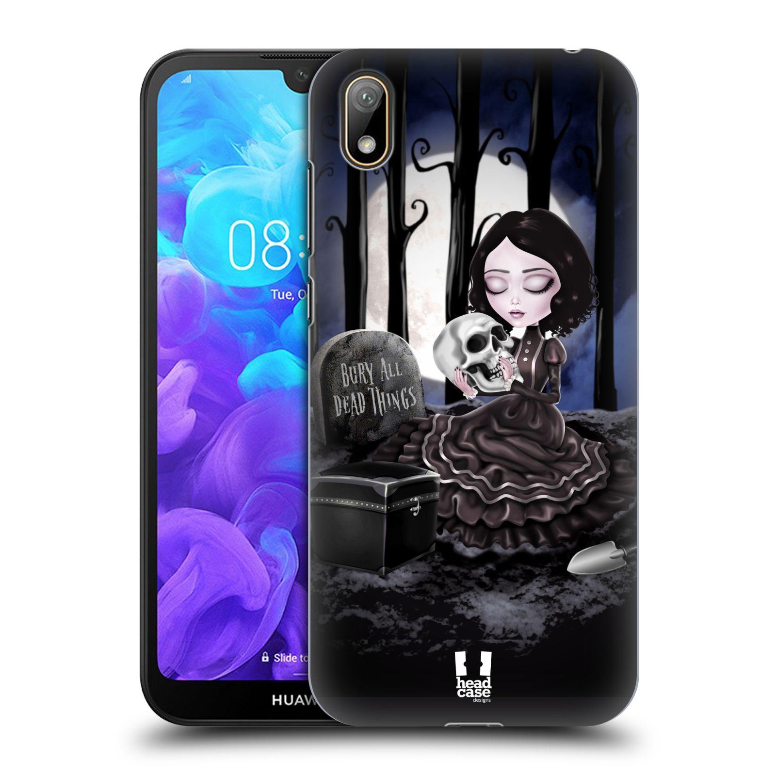 Plastové pouzdro na mobil Honor 8S - Head Case - MACABRE HŘBITOV