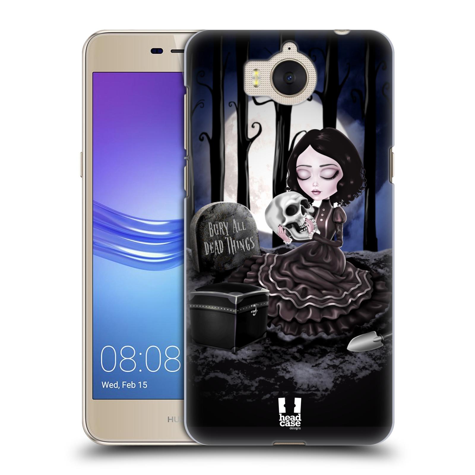 Plastové pouzdro na mobil Huawei Y6 2017 - Head Case - MACABRE HŘBITOV