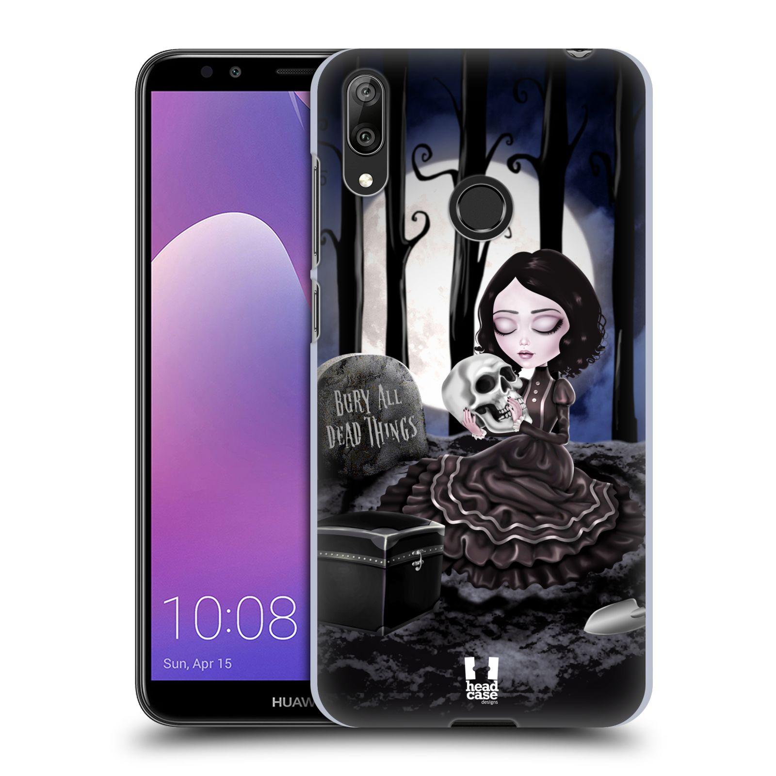 Plastové pouzdro na mobil Huawei Y7 (2019) - Head Case - MACABRE HŘBITOV