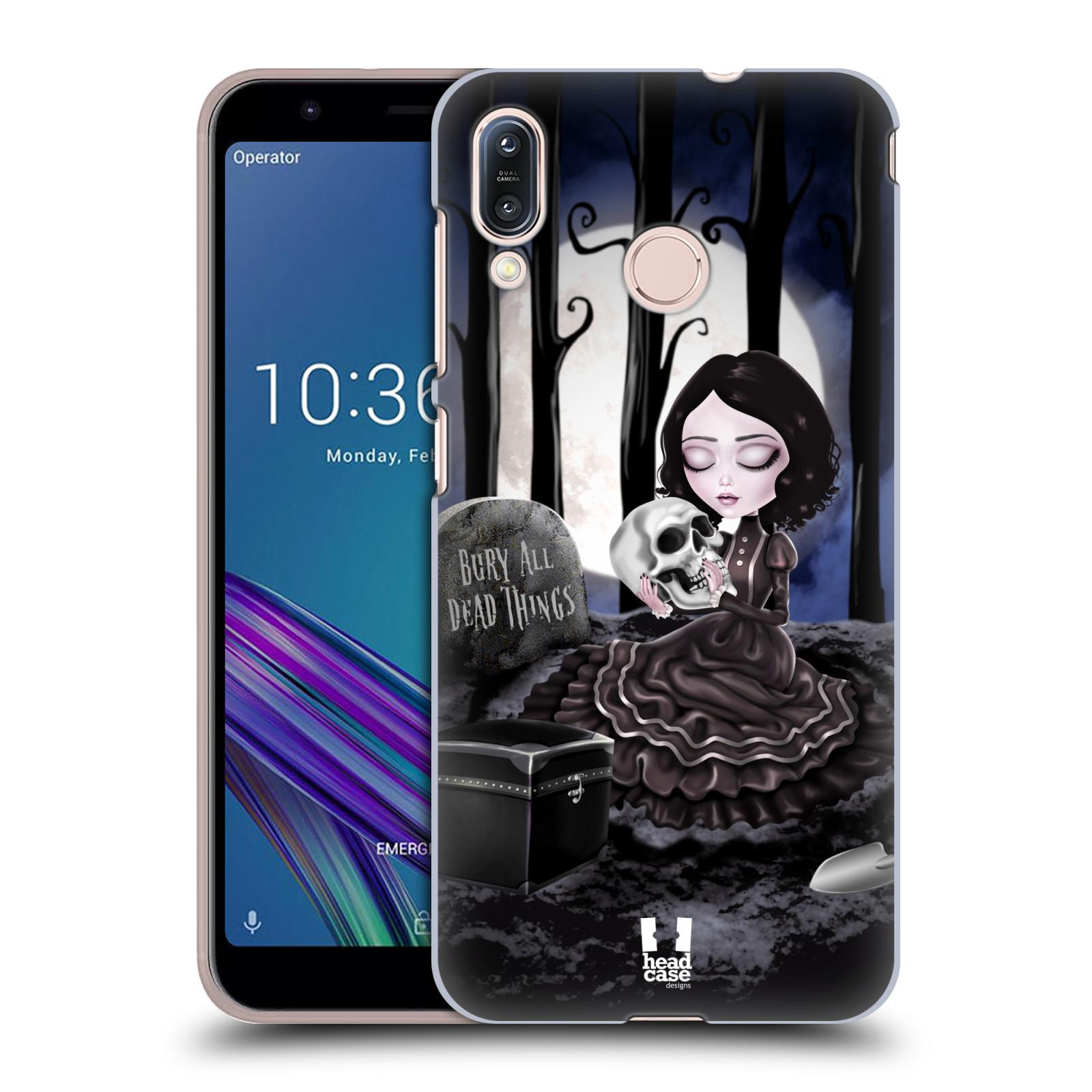 Plastové pouzdro na mobil Asus Zenfone Max M1 ZB555KL - Head Case - MACABRE HŘBITOV