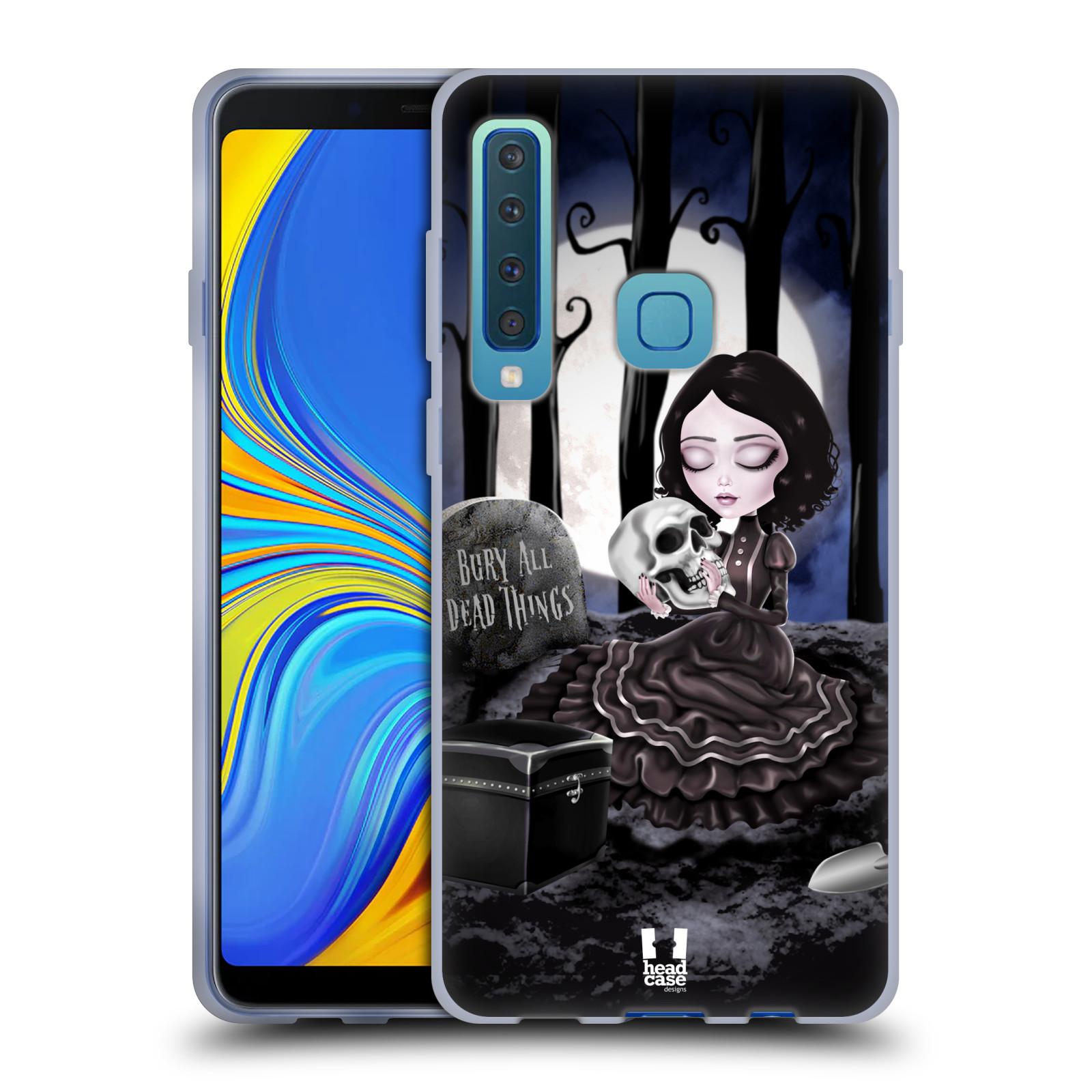 Silikonové pouzdro na mobil Samsung Galaxy A9 (2018) - Head Case - MACABRE HŘBITOV