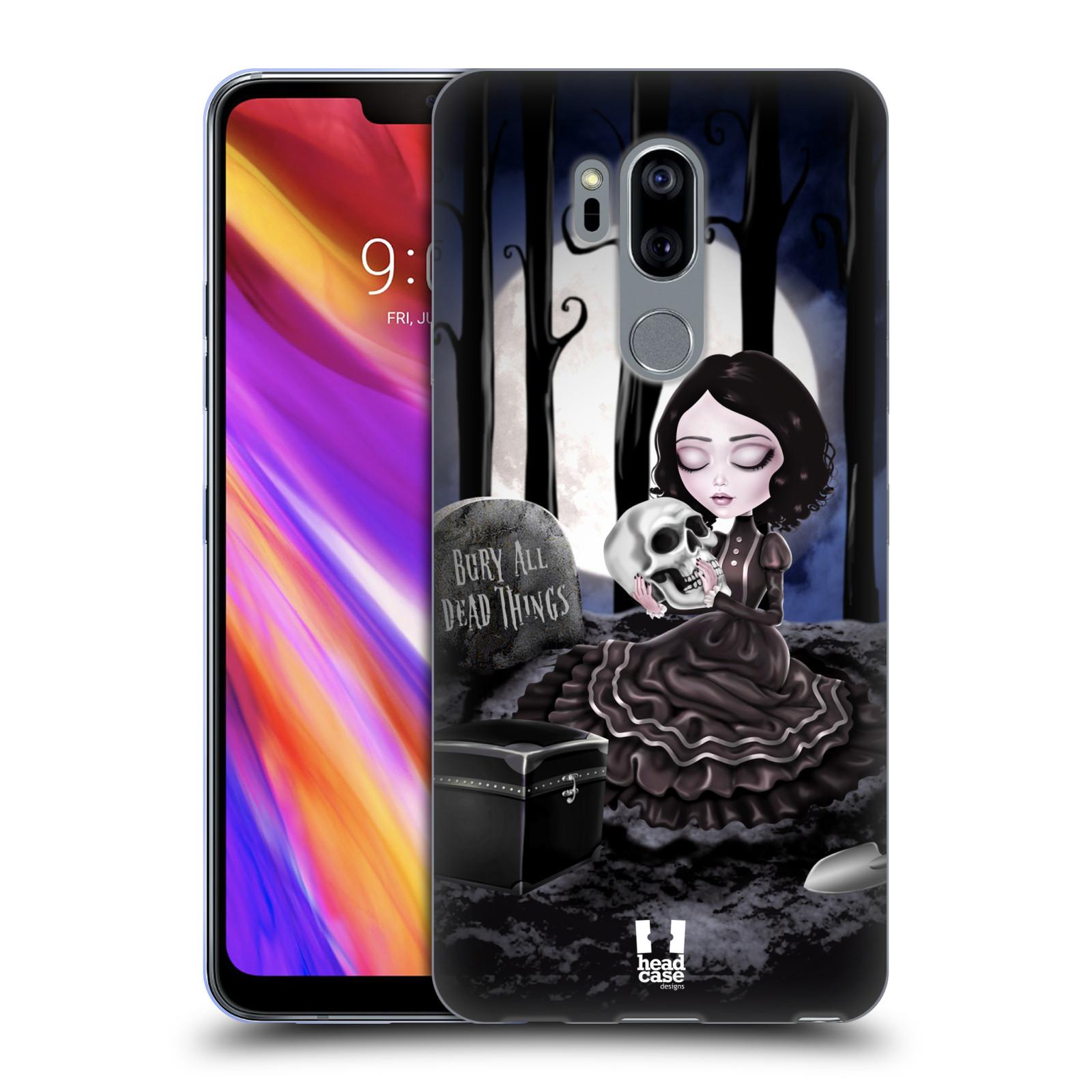Silikonové pouzdro na mobil LG G7 ThinQ - Head Case - MACABRE HŘBITOV