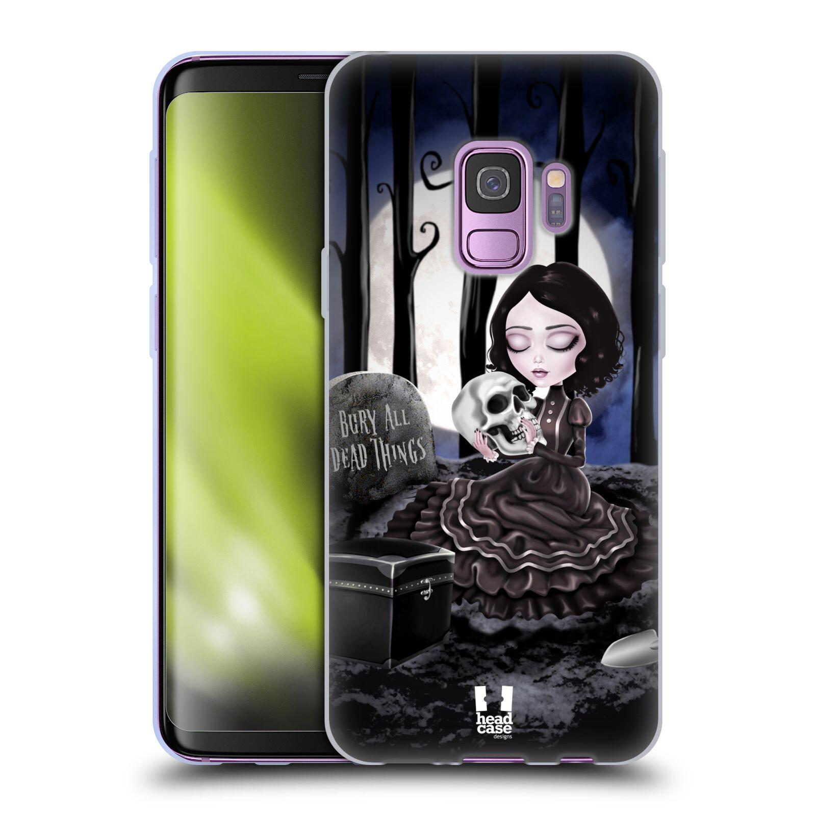 Silikonové pouzdro na mobil Samsung Galaxy S9 - Head Case - MACABRE HŘBITOV