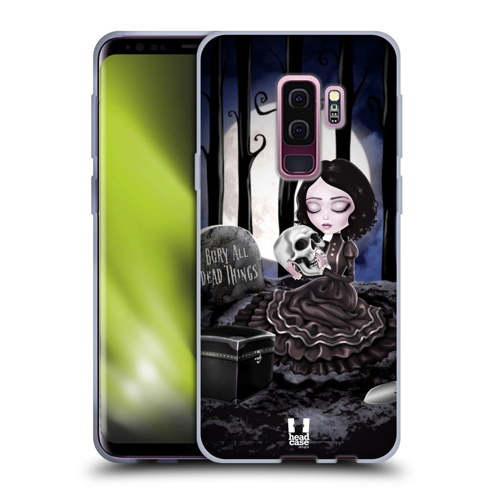 Silikonové pouzdro na mobil Samsung Galaxy S9 Plus - Head Case - MACABRE HŘBITOV
