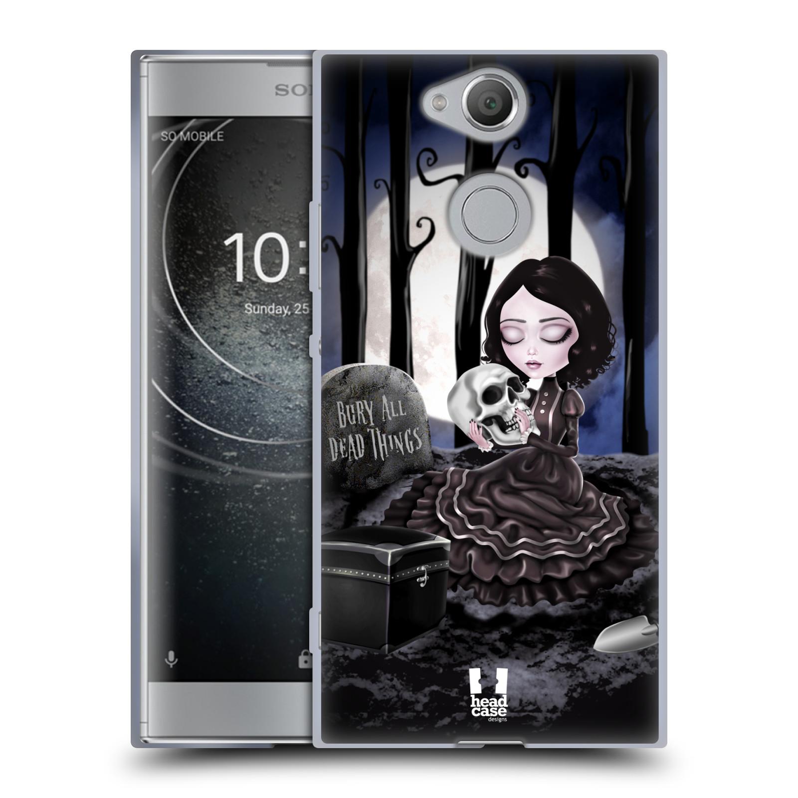 Silikonové pouzdro na mobil Sony Xperia XA2 - Head Case - MACABRE HŘBITOV