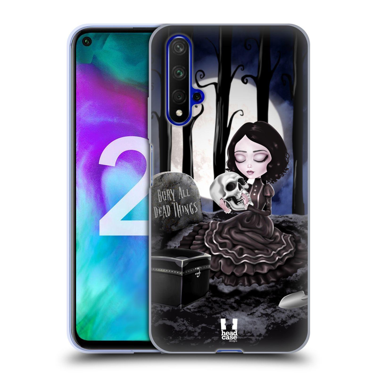 Silikonové pouzdro na mobil Honor 20 - Head Case - MACABRE HŘBITOV
