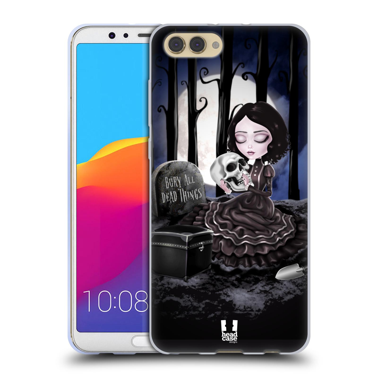 Silikonové pouzdro na mobil Honor View 10 - Head Case - MACABRE HŘBITOV