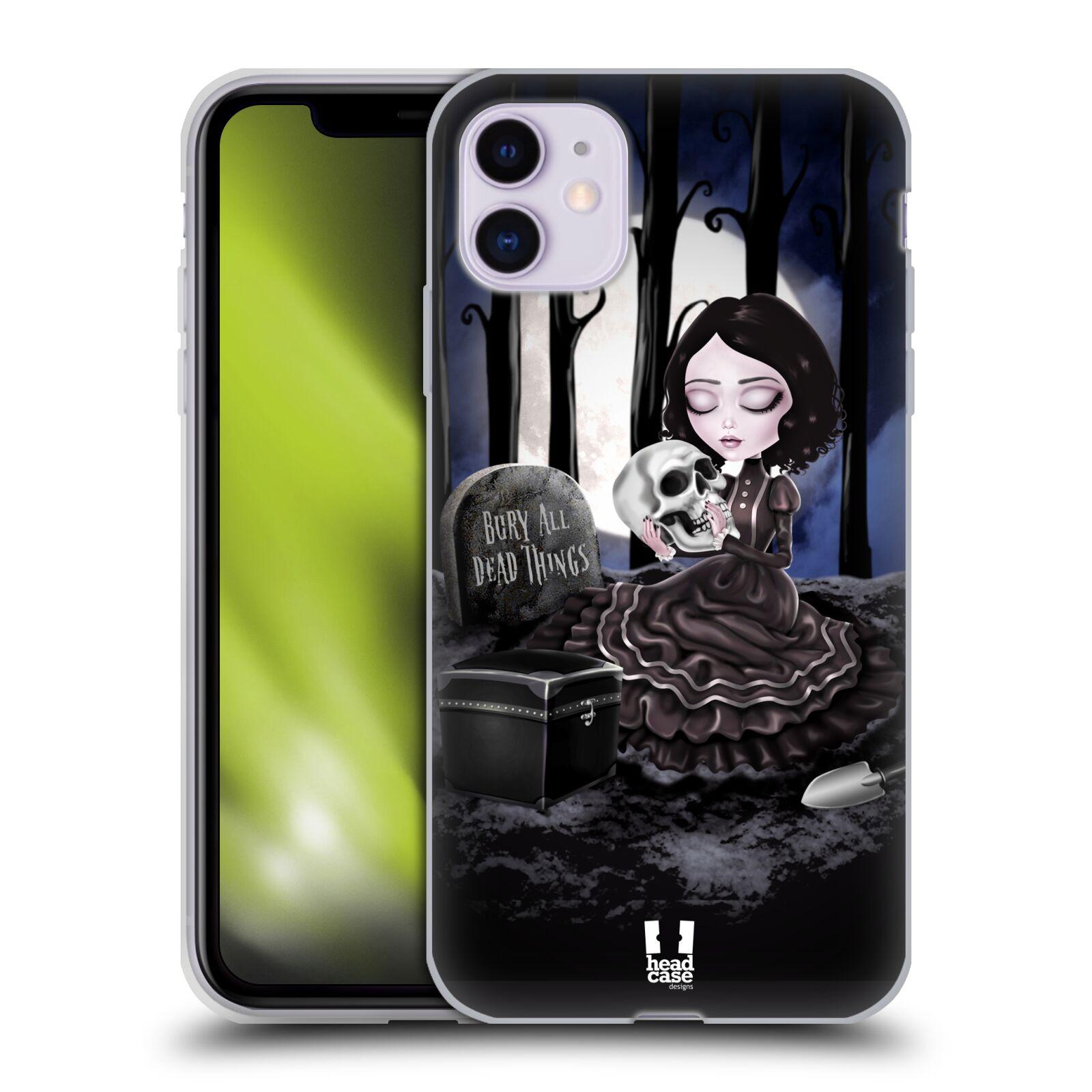 Silikonové pouzdro na mobil Apple iPhone 11 - Head Case - MACABRE HŘBITOV