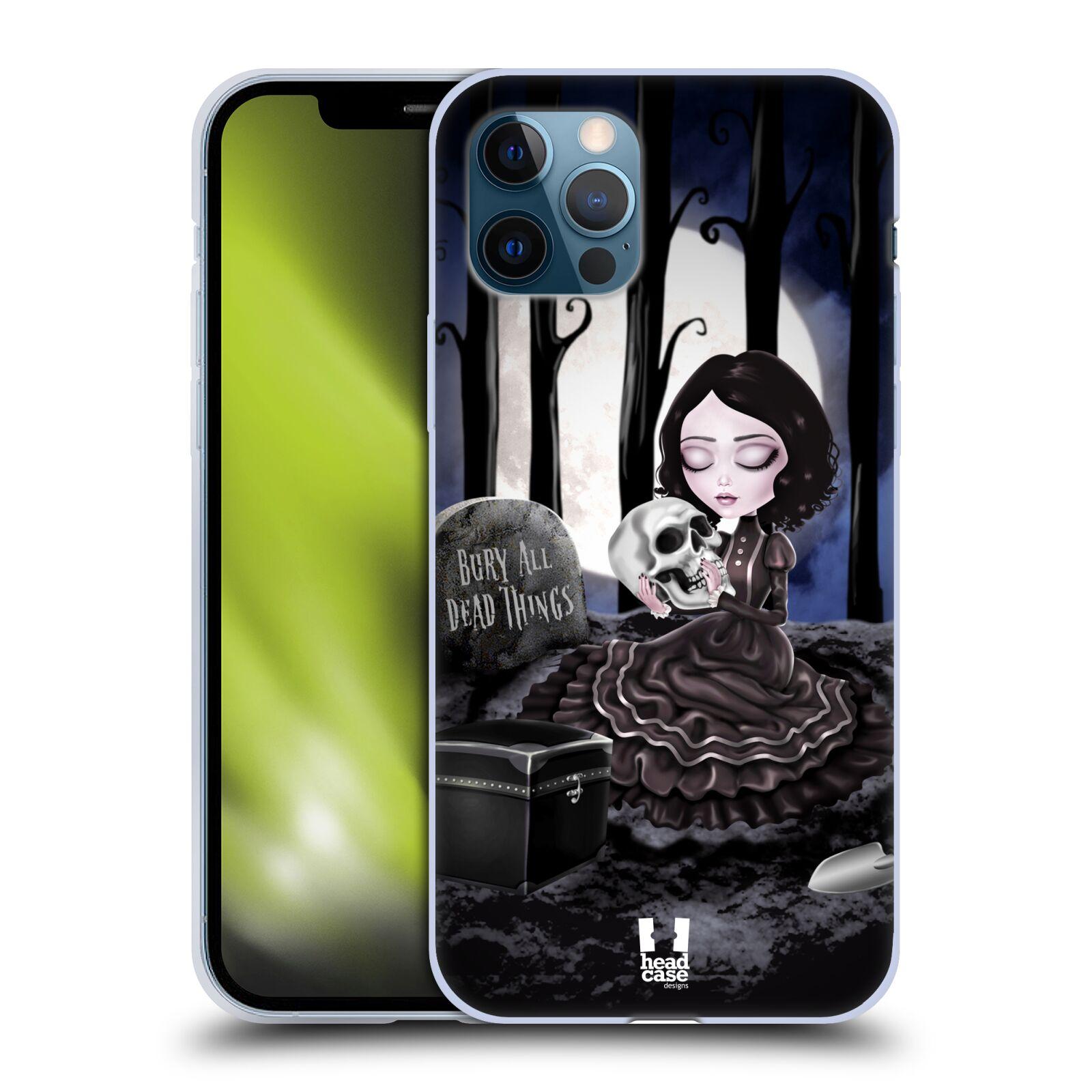 Silikonové pouzdro na mobil Apple iPhone 12 / 12 Pro - Head Case - MACABRE HŘBITOV