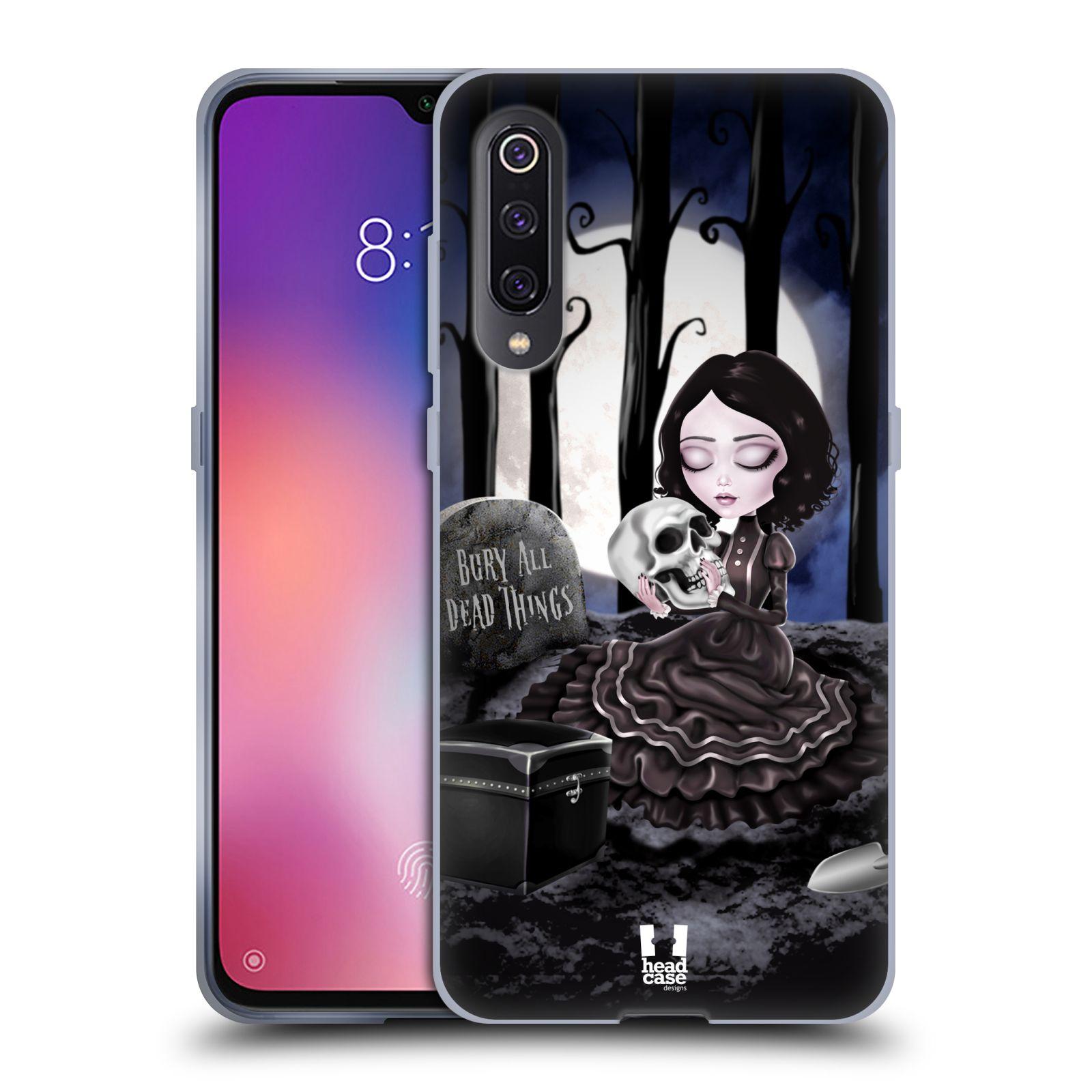 Silikonové pouzdro na mobil Xiaomi Mi 9 - Head Case - MACABRE HŘBITOV