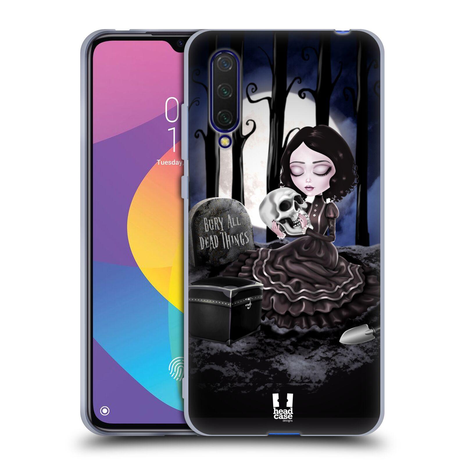 Silikonové pouzdro na mobil Xiaomi Mi 9 Lite - Head Case - MACABRE HŘBITOV